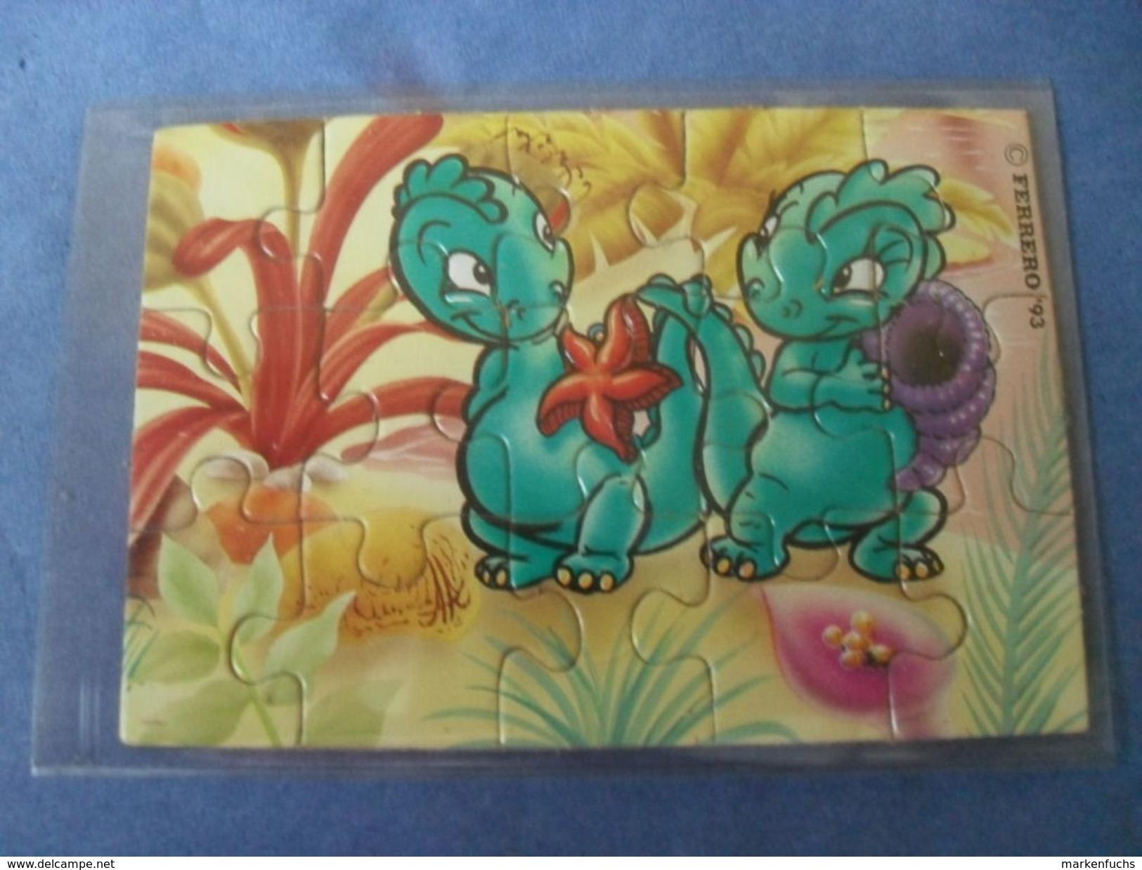 Drolly Dinos 1993 / Puzzle + BPZ - Ü-Ei