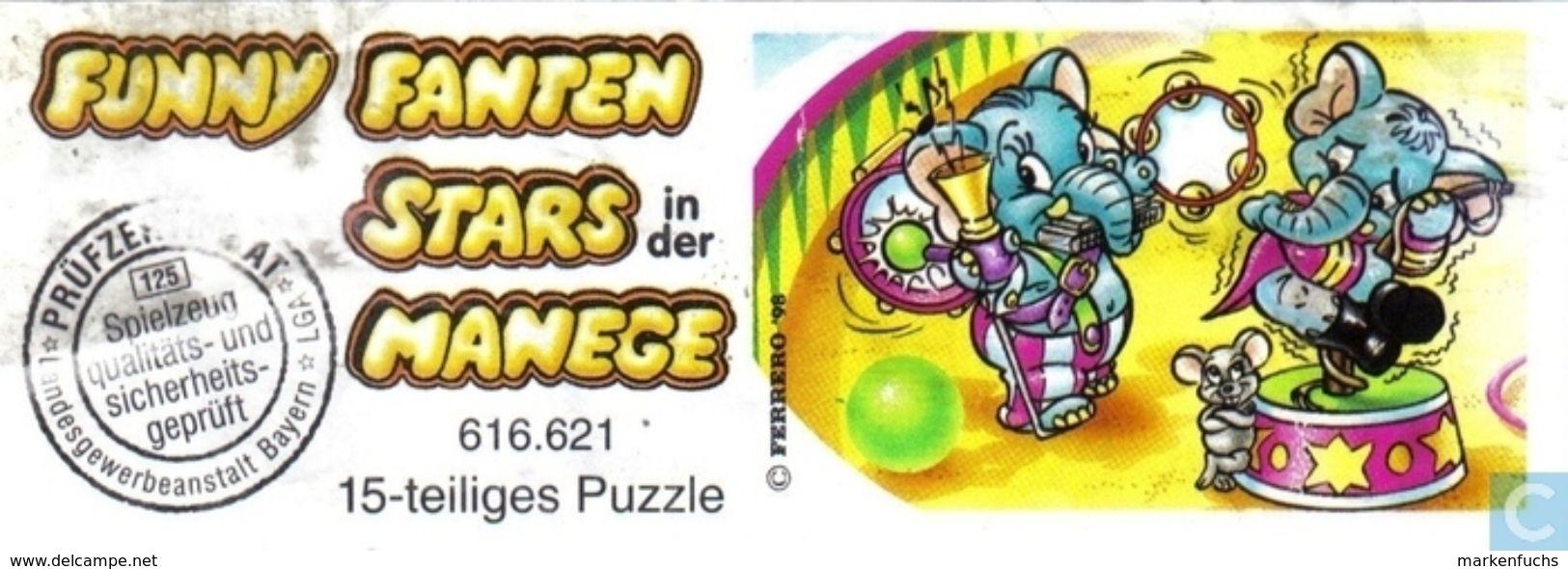 Stars In Der Manege / Puzzle + BPZ - Ü-Ei