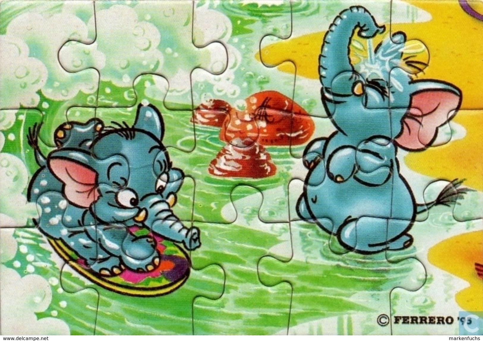 Funny Fanten Cluburlaub / Puzzle - Ü-Ei