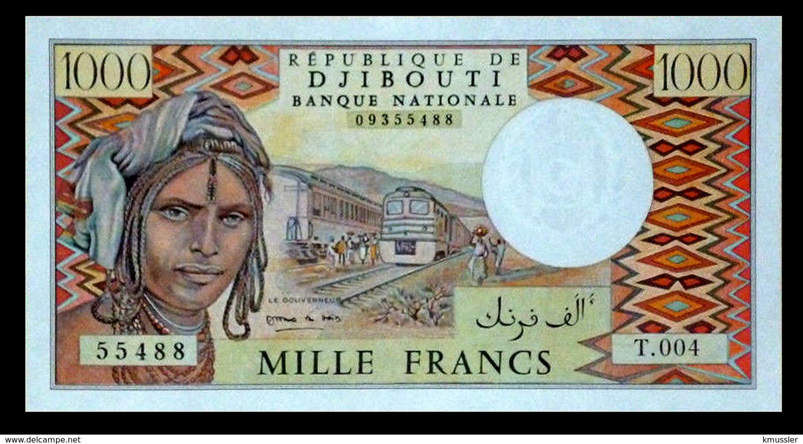 # # # Banknote Dschibuti (Djibouti) 1000 Francs UNC # # # - Djibouti