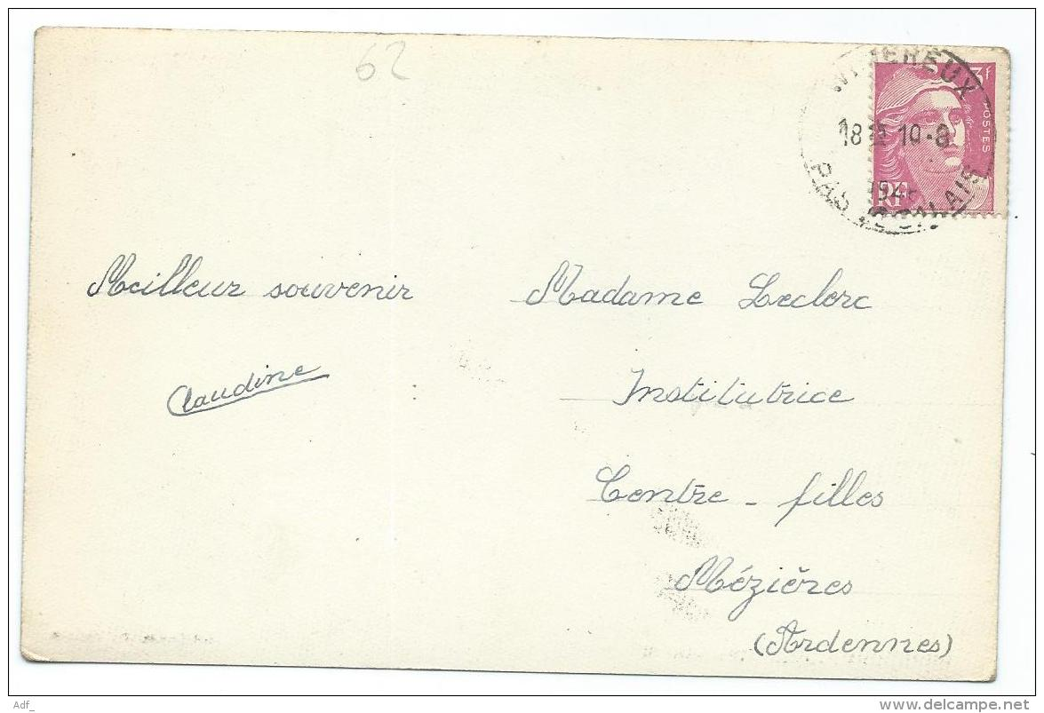 CPSM WIMEREUX PLAGE, TEMPETE, Format 9 Cm Sur 14 Cm Environ, PAS DE CALAIS 62 - France