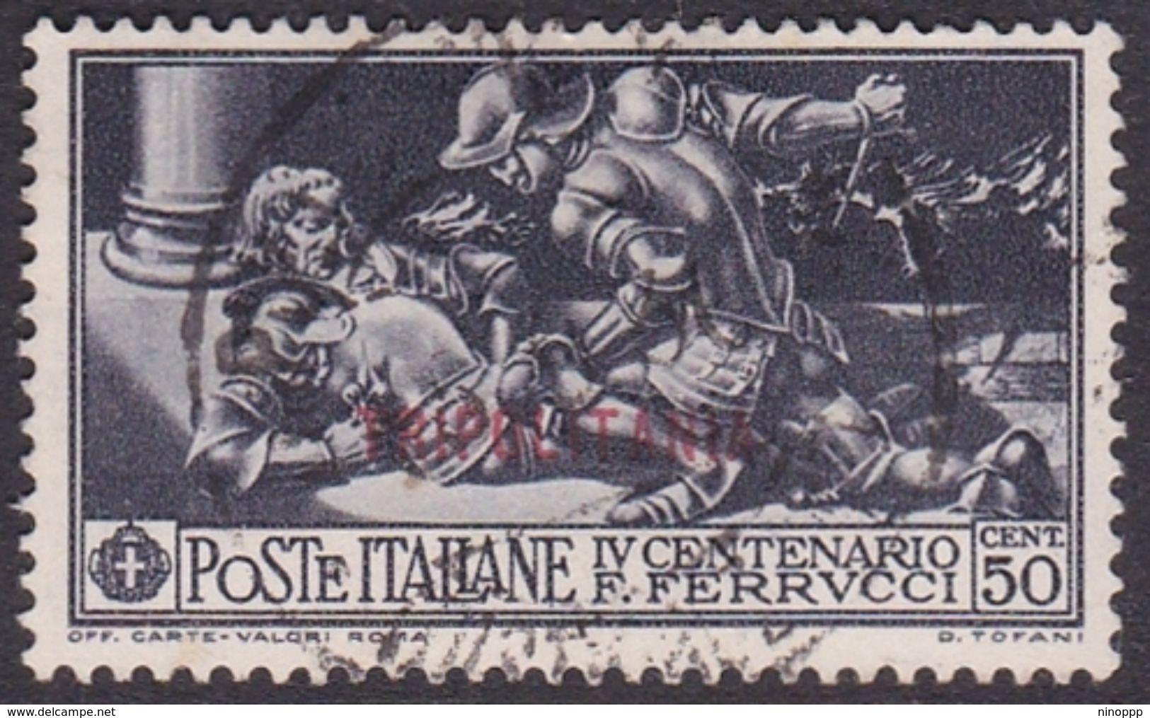 Italy-Colonies And Territories-Tripolitania S66 1930 Ferrucci,50c Black,used - Tripolitania