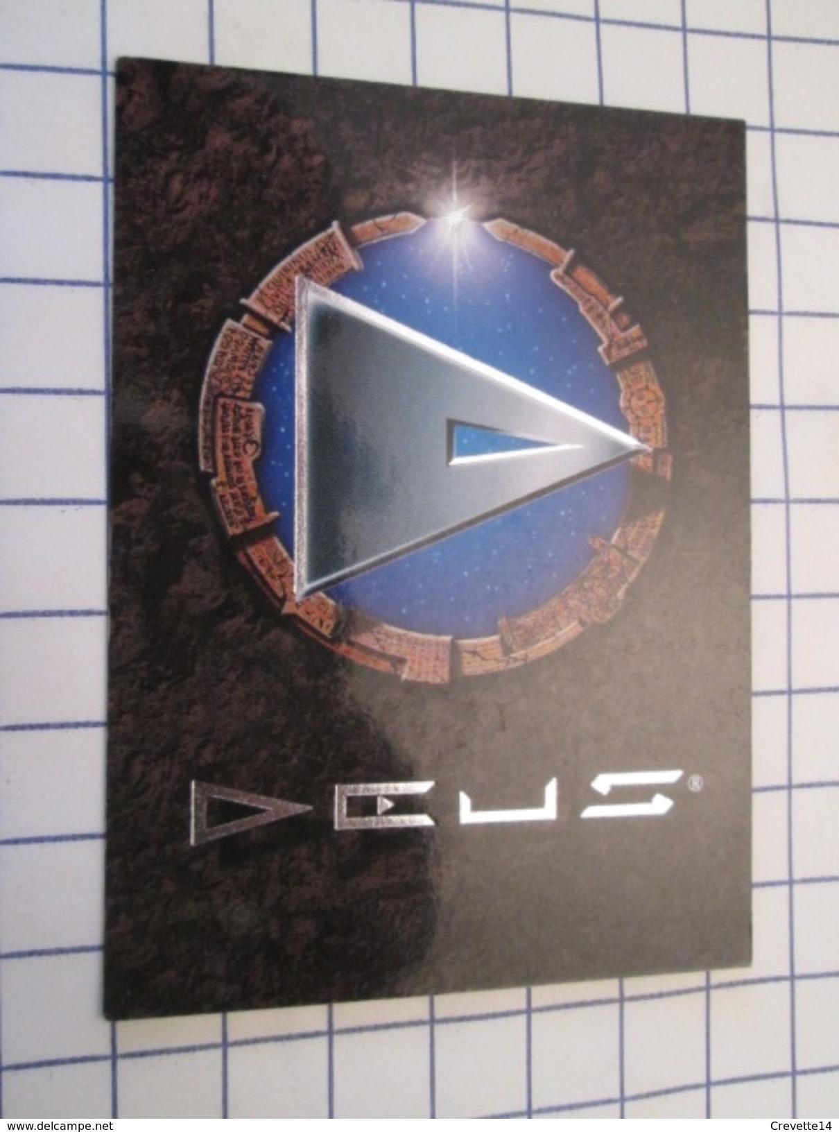Carte Du Jeu DEUS BRILLANTE ARGENTEE  N°55 FRIGG Gidaire (Civilisation VIKING), En Très Bon état , Voir Photos - Group Games, Parlour Games