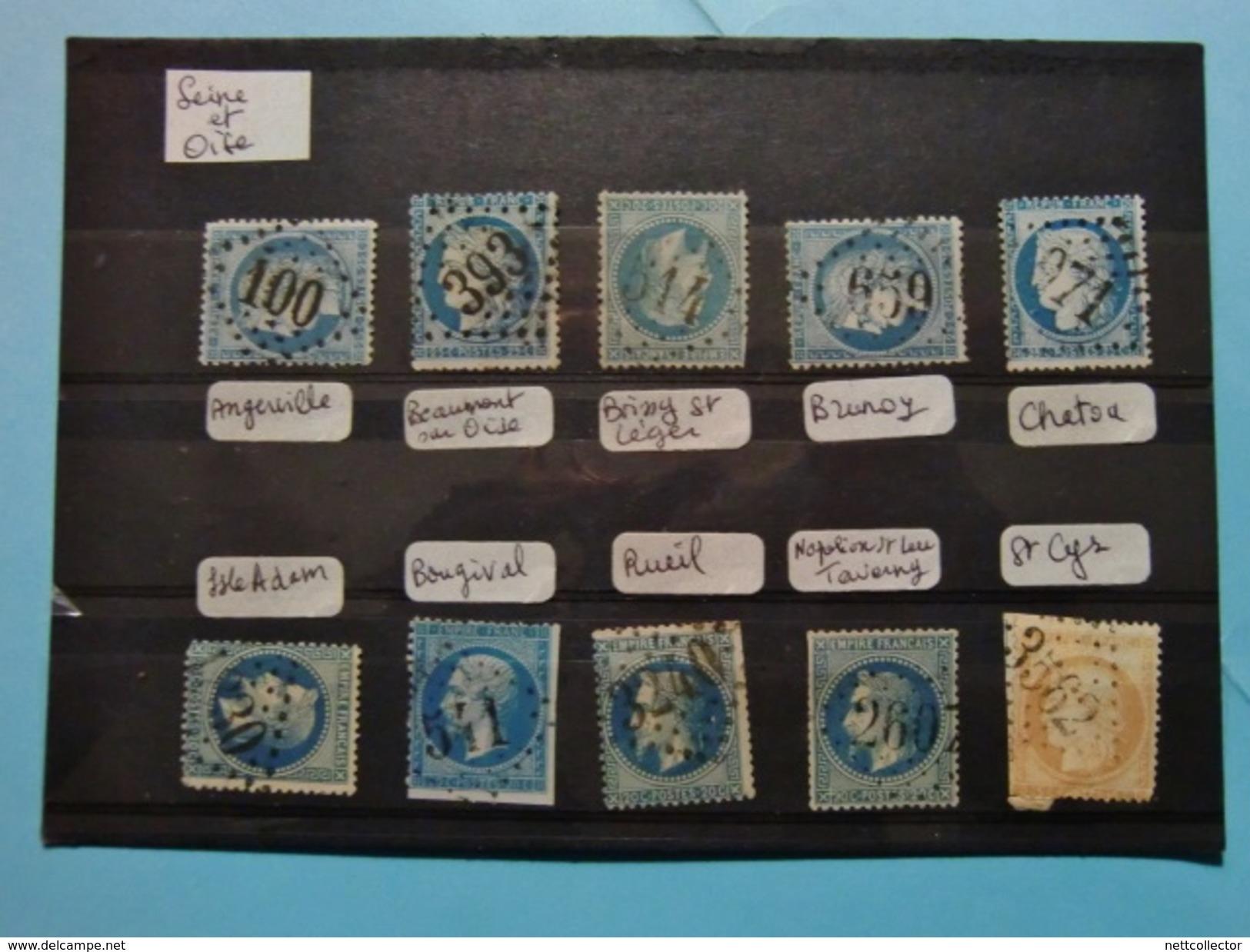 FRANCE CLASSIQUES COLLECTION SPECIALISEE GC Dont RARES / TOUS DEPARTEMENTS / 2è Et DERNIERE PARTIE MAJ. TB - 1849-1876: Période Classique