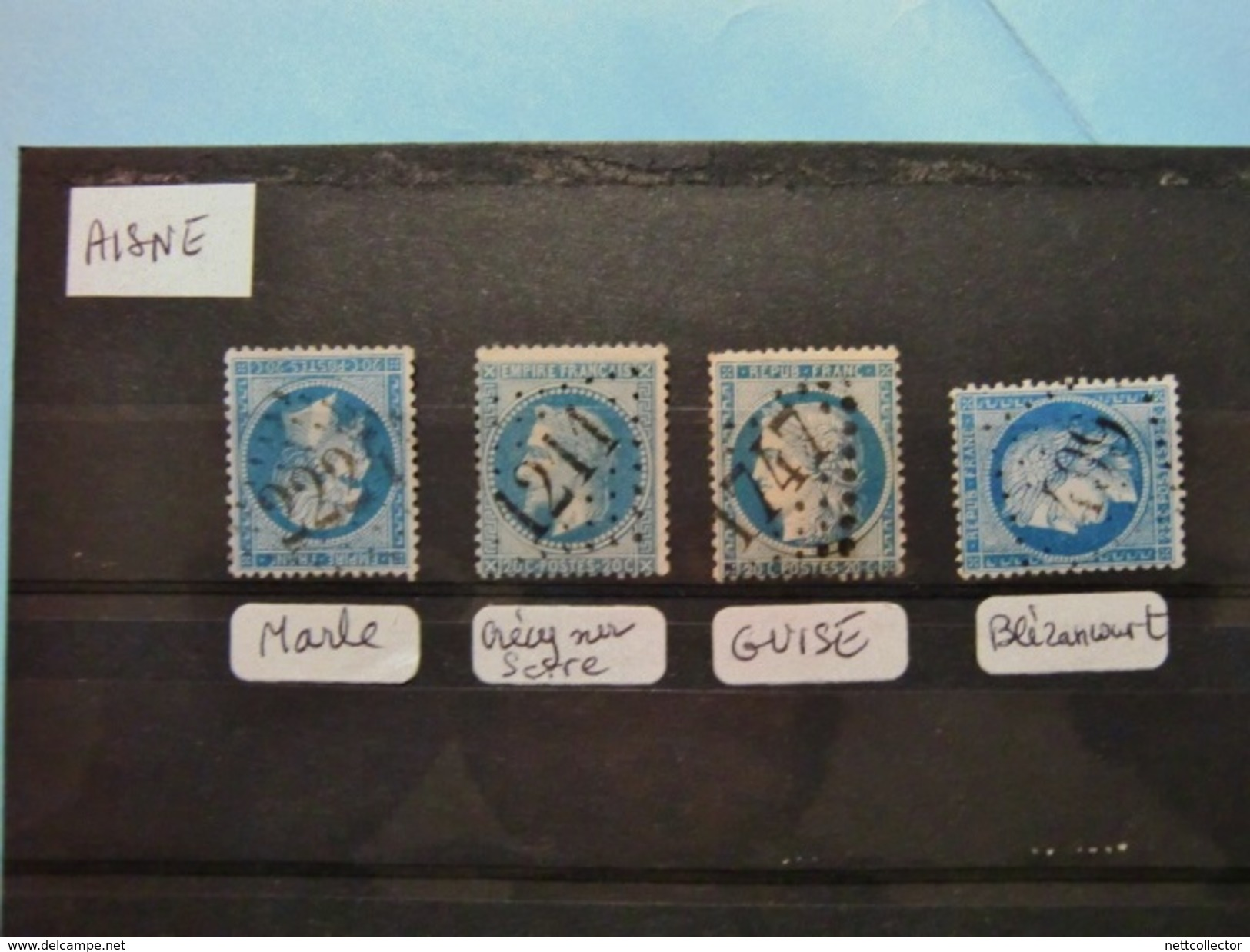 FRANCE CLASSIQUES COLLECTION SPECIALISEE GC Dont RARES / TOUS DEPARTEMENTS / 2è Et DERNIERE PARTIE MAJ. TB - Poststempel (Einzelmarken)