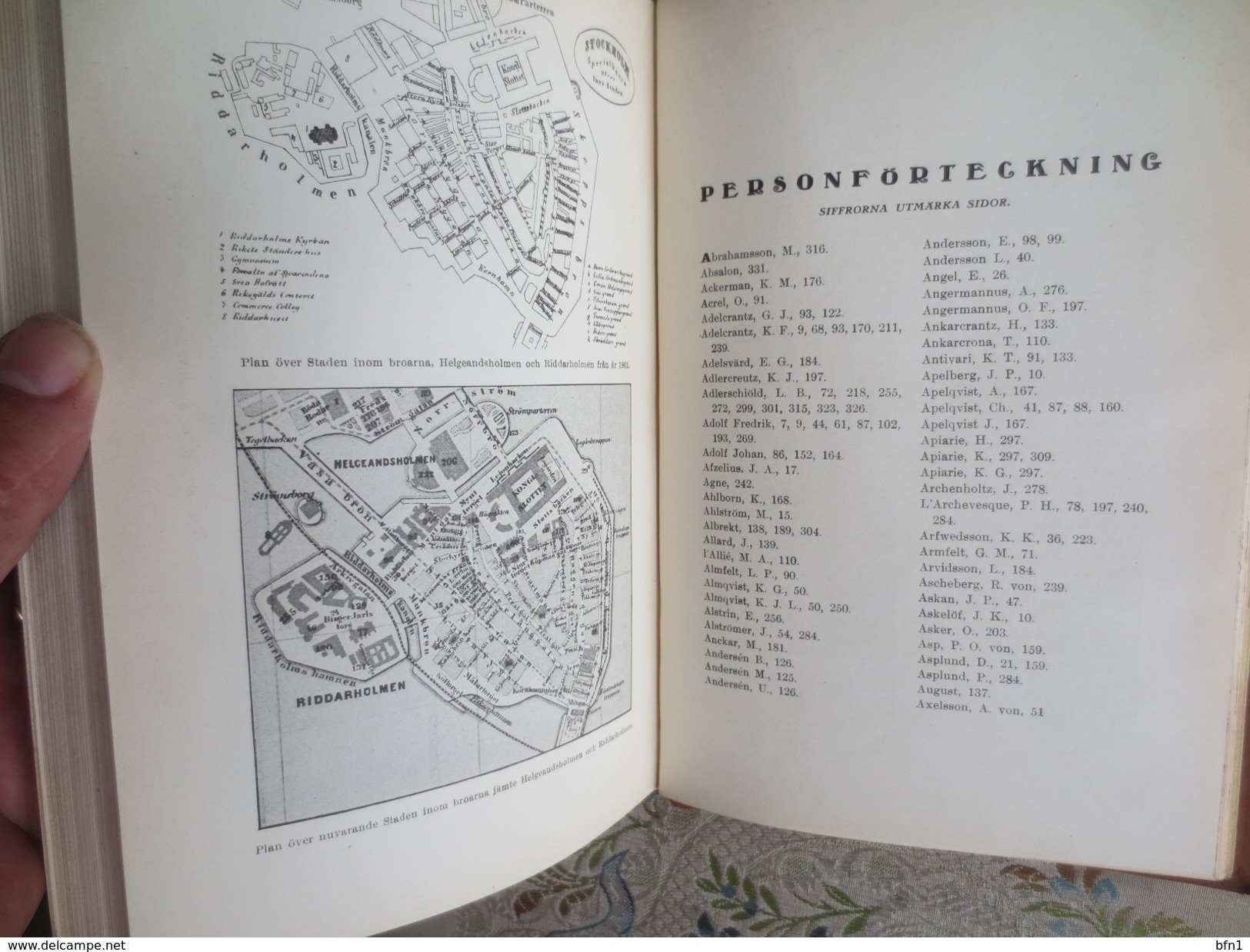 Palats Och Kakar 1917 Tidner Stockholm Sweden History Buildings Survey - Beautiful With Hand Printing Page - Books, Magazines, Comics