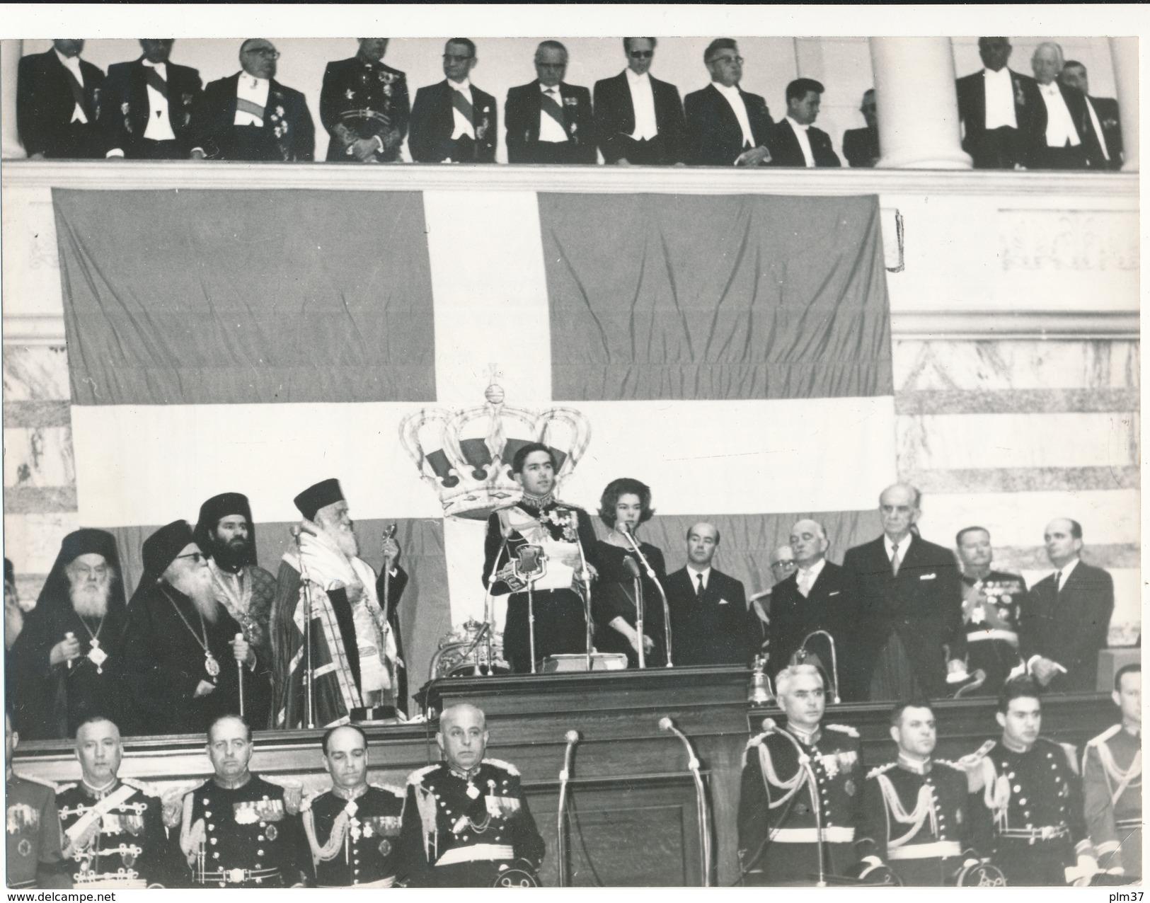 Photo De Presse - GRECE, ATHENES - Le Roi Constantin, La Princesse Irène, Prestation De Serment - Altri