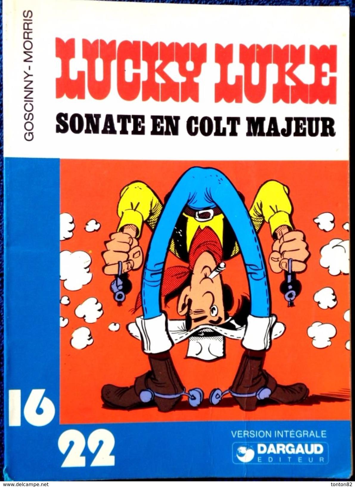 "Goscinny - Morris - LUCKY Luke  - "" Sonate En Colt Majeur "" - 16 / 22 - Dargaud N° 48 - ( 1980 ) . - Autres"