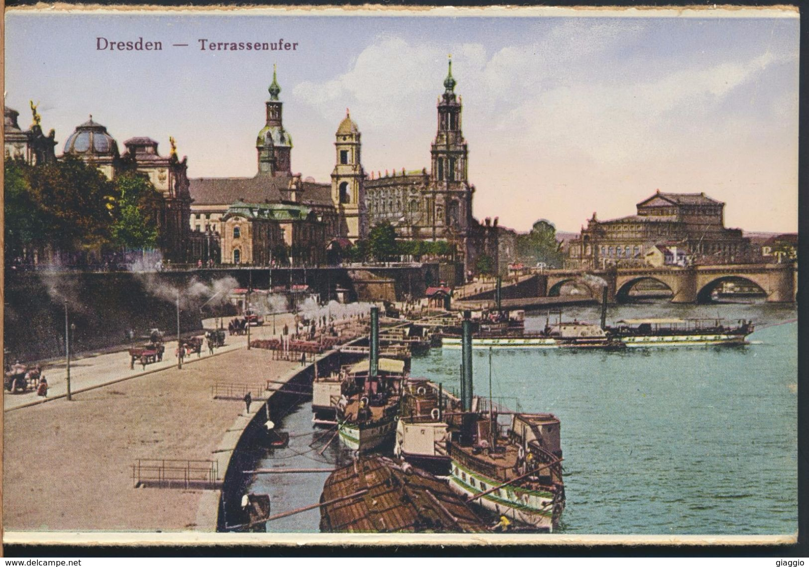 °°° 5055 - GERMANY - DRESDEN - TERRASSENUFER °°° - Dresden