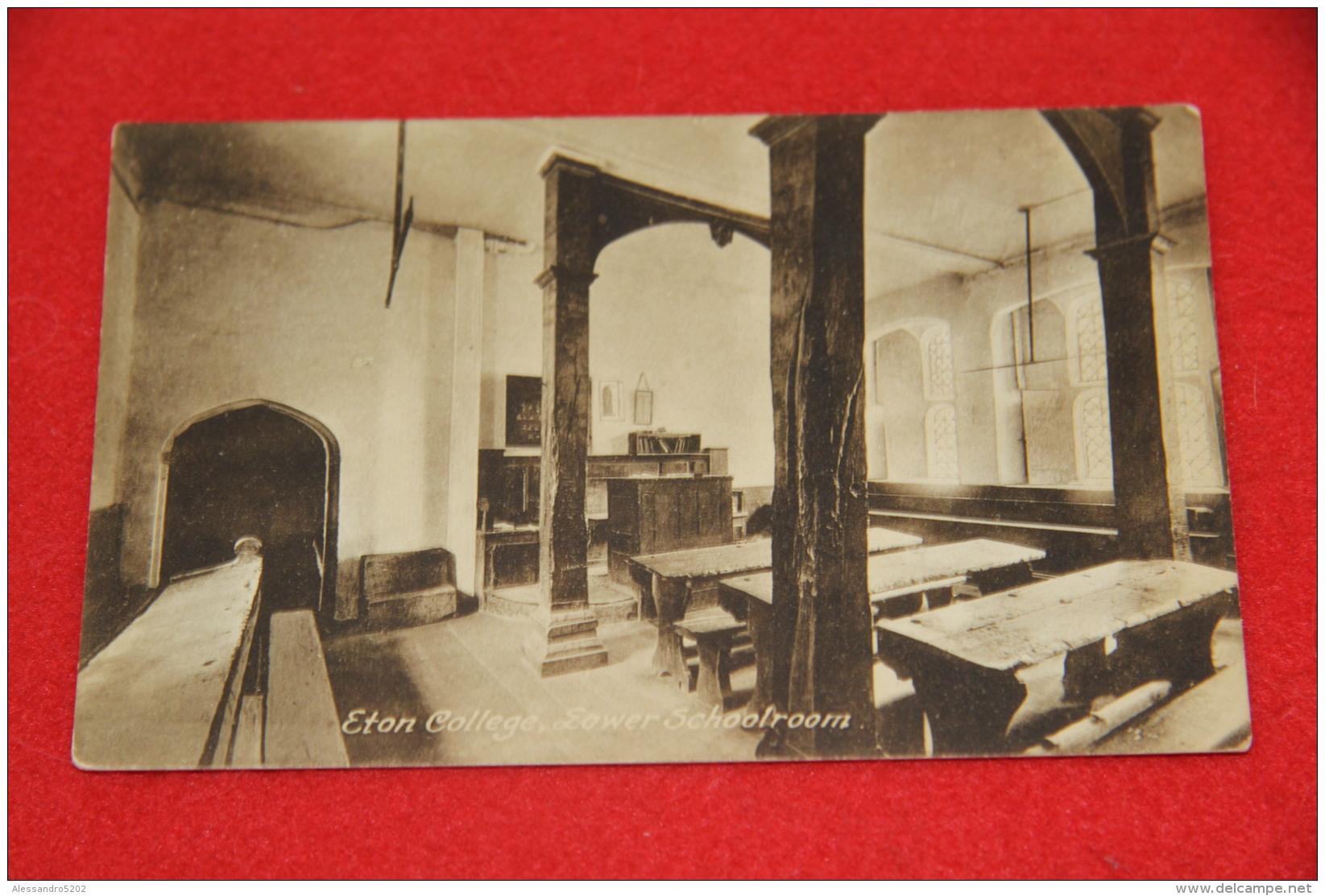 Berkshire Eton College Lower Schoolroom  NV - Non Classificati