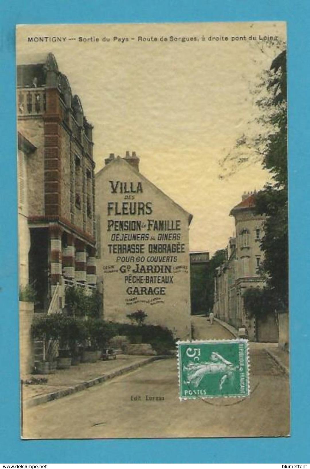 CPA Sortie Du Pays Route De Sorgues MONTIGNY 78 - Montigny Le Bretonneux