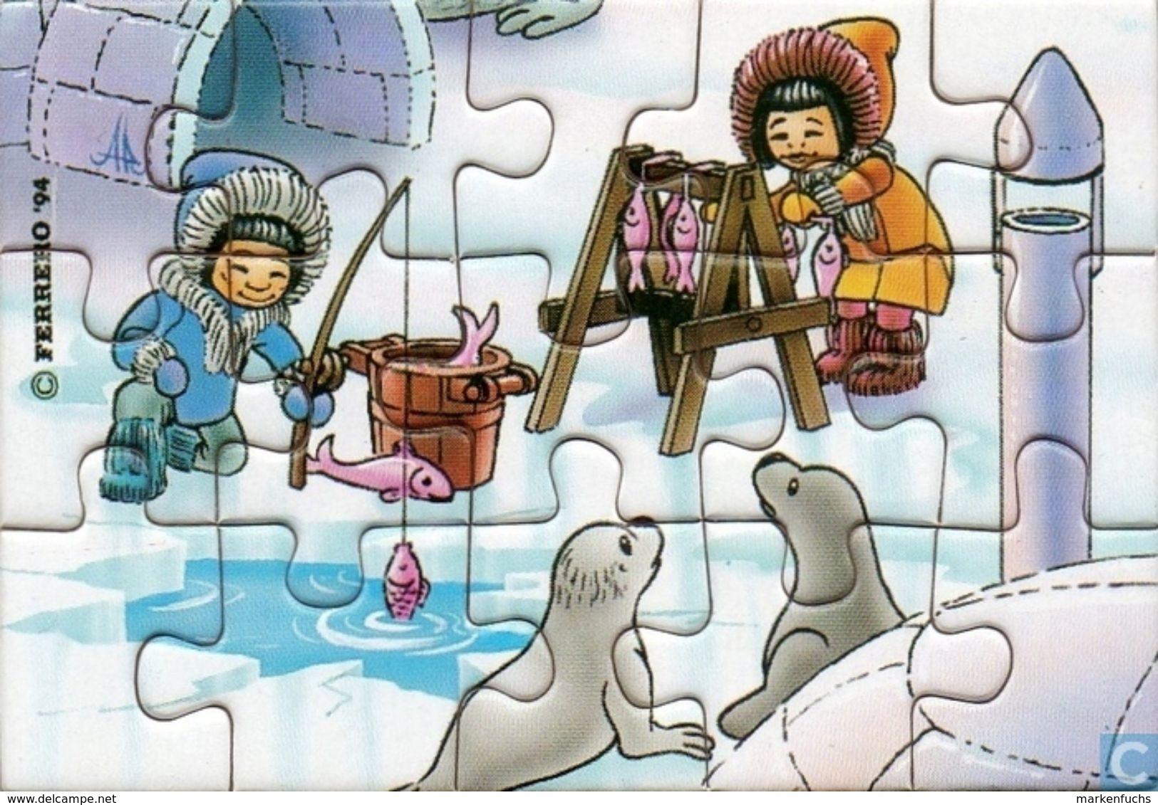 Bei Den Eskimos / Puzzle - Ü-Ei