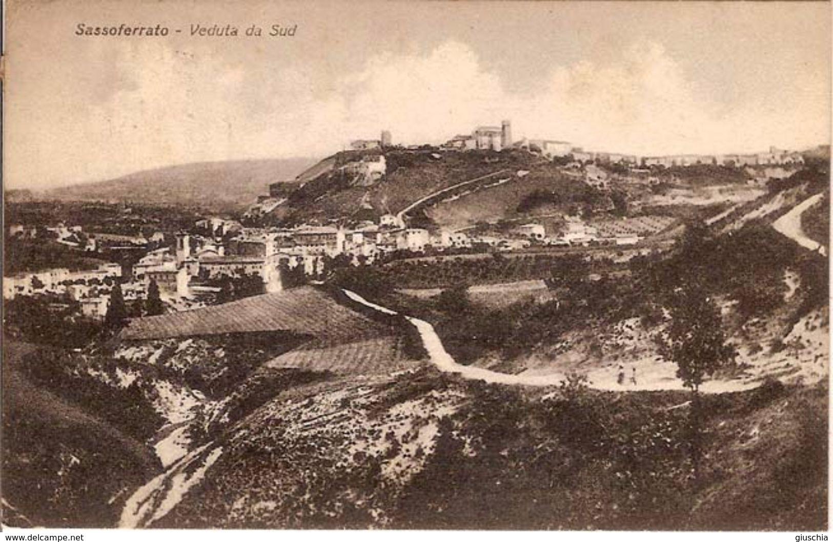 (C).Sassoferrato(AN).Panorama.F.to Piccolo.Viaggiata (c17) - Ancona