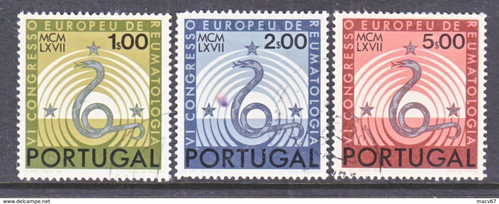 PORTUGAL 1008-10    (o)   VI  CONGRESS  MEDICINE - Medicine