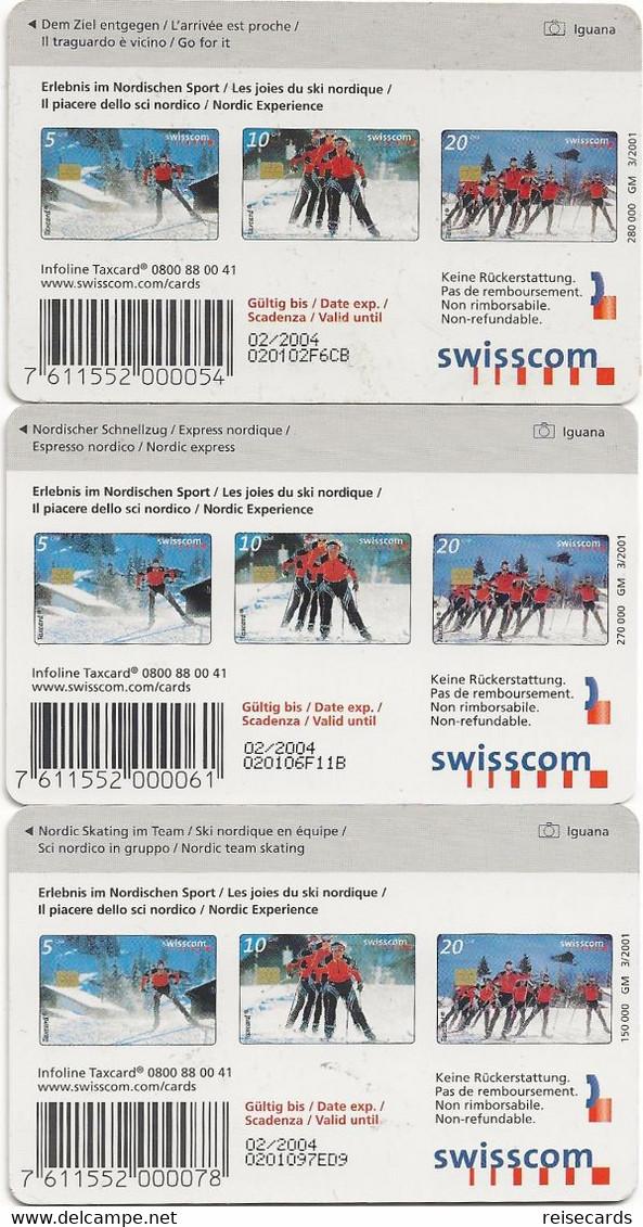 Swisscom: CP91-93 Erlebnis Im Nordischen Sport - Schweiz