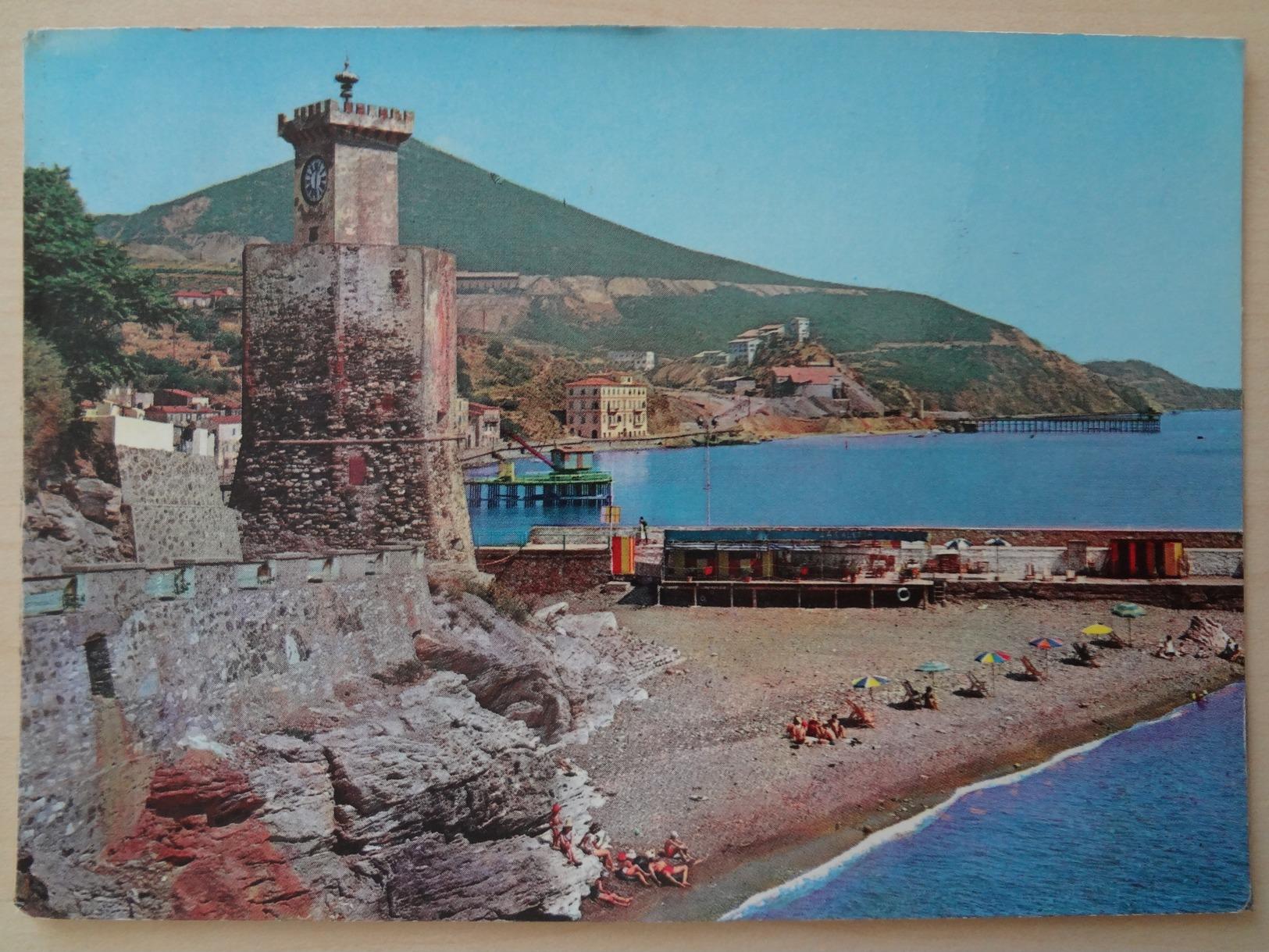 473 - Cartolina Isola D'Elba Rio Marina Spiaggia Di Caletta - Italia