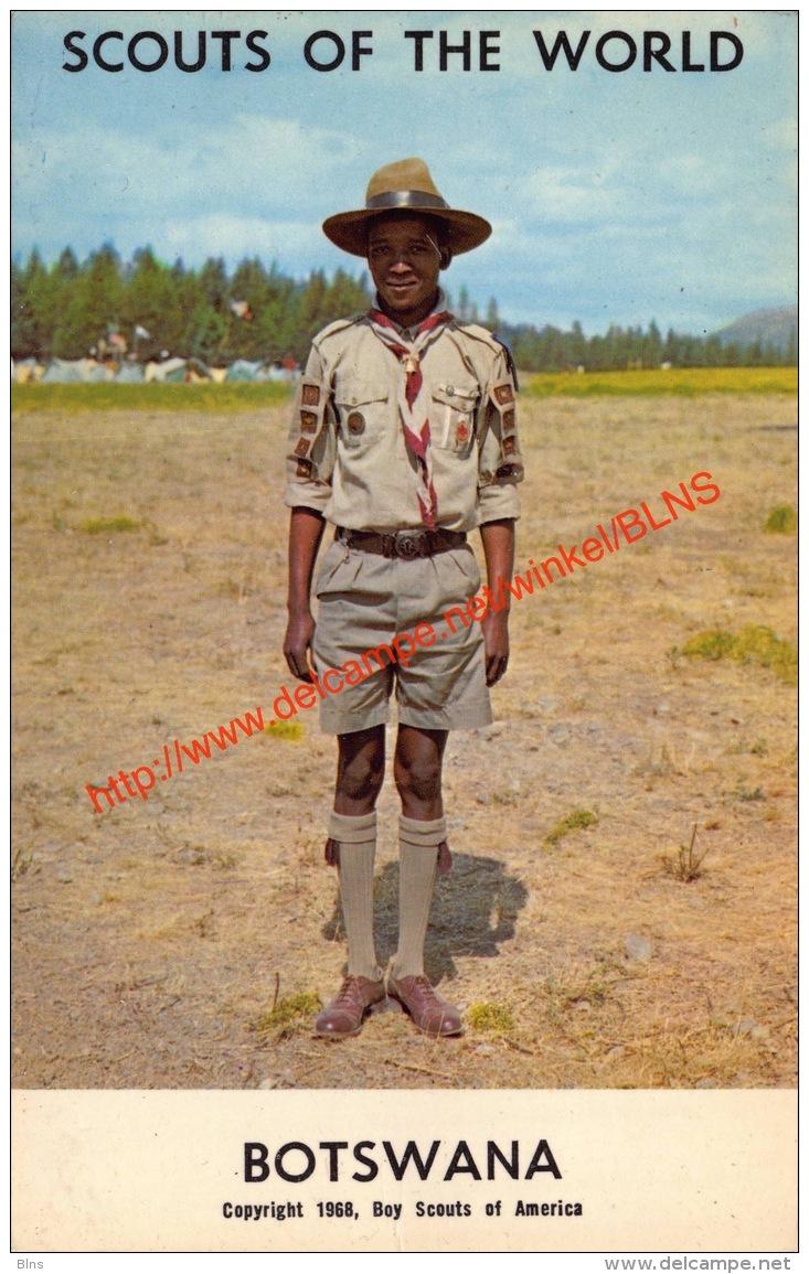 1968 Scouts Of The World - Botswana - Botswana