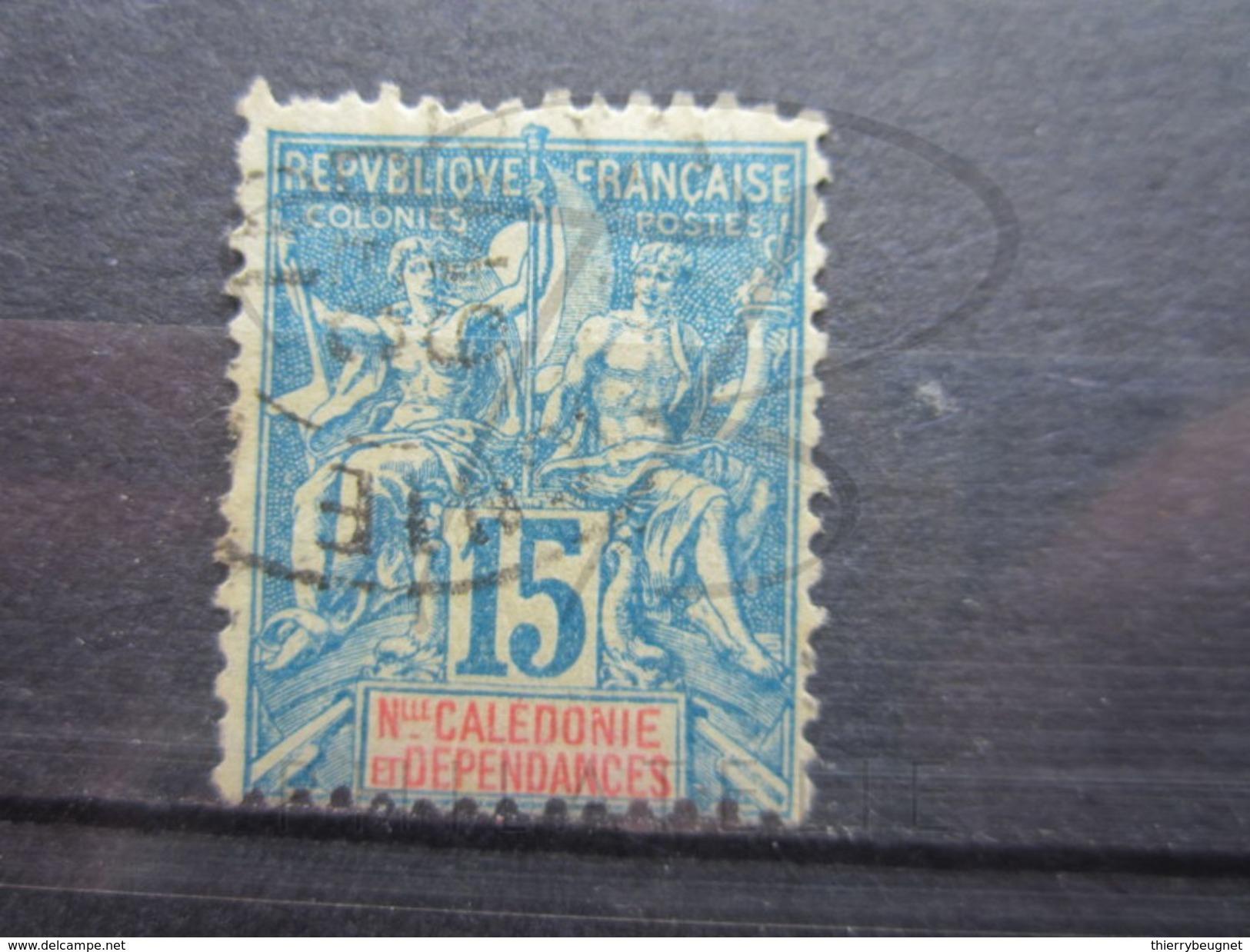 VEND BEAU TIMBRE DE NOUVELLE - CALEDONIE N° 46 !!! - Nueva Caledonia