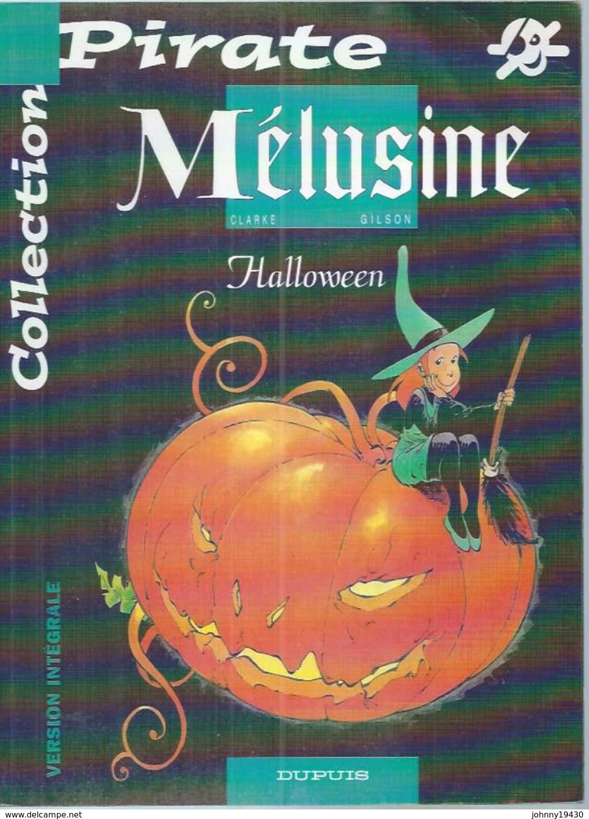 "MELUSINE  ""  HALLOWEEN "" -  CLARKE / GILSON  - DUPUIS - Mélusine"