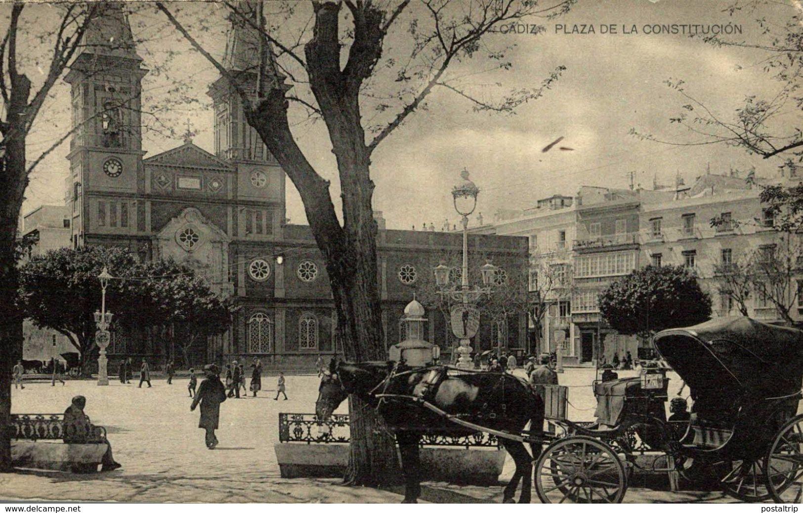 CADIZ - PLAZA DE LA CONSTITUCION. HAUSER Y MENET - Cádiz