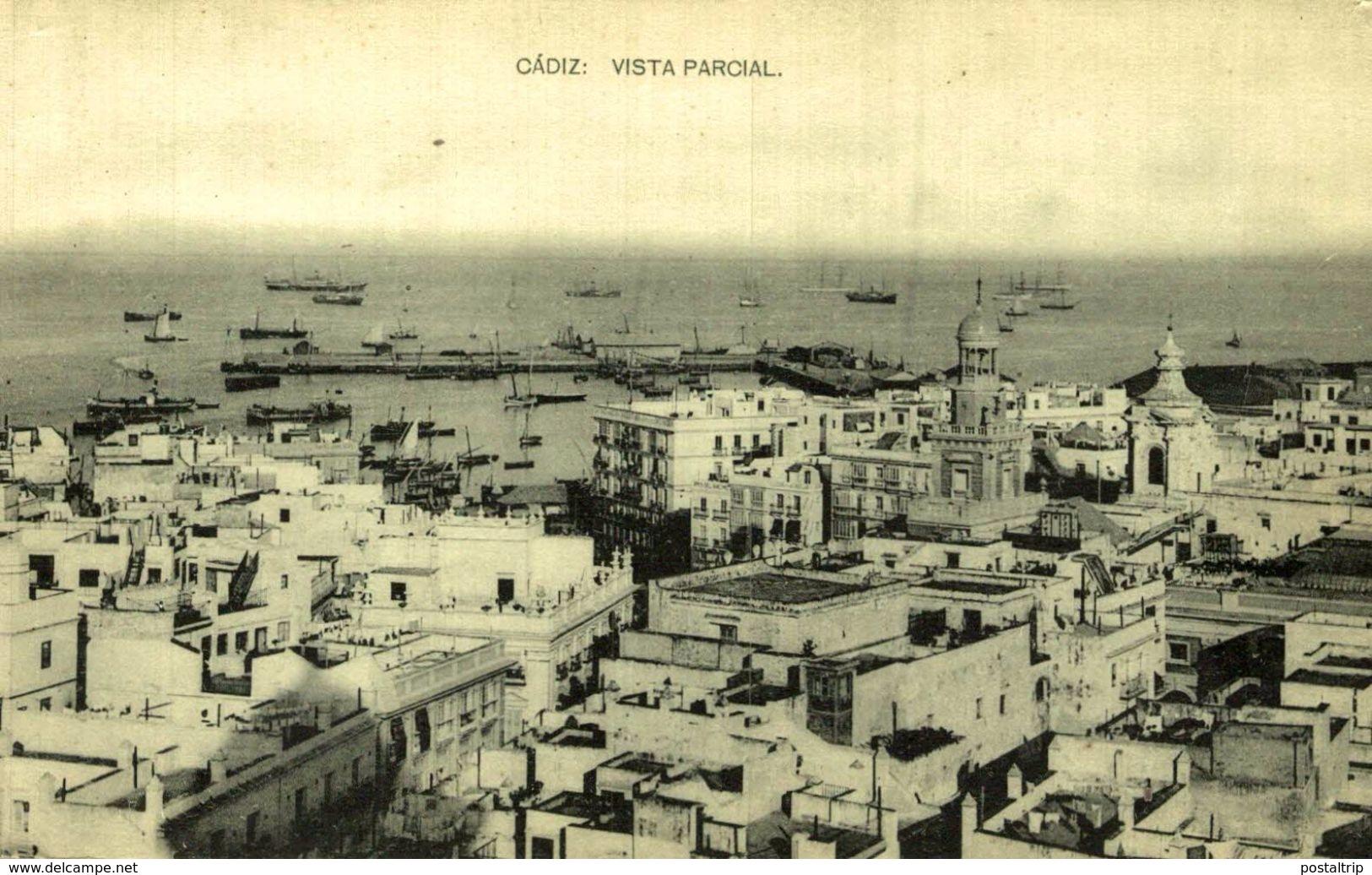CADIZ. VISTA PARCIAL. - HAUSER Y MENET - Cádiz
