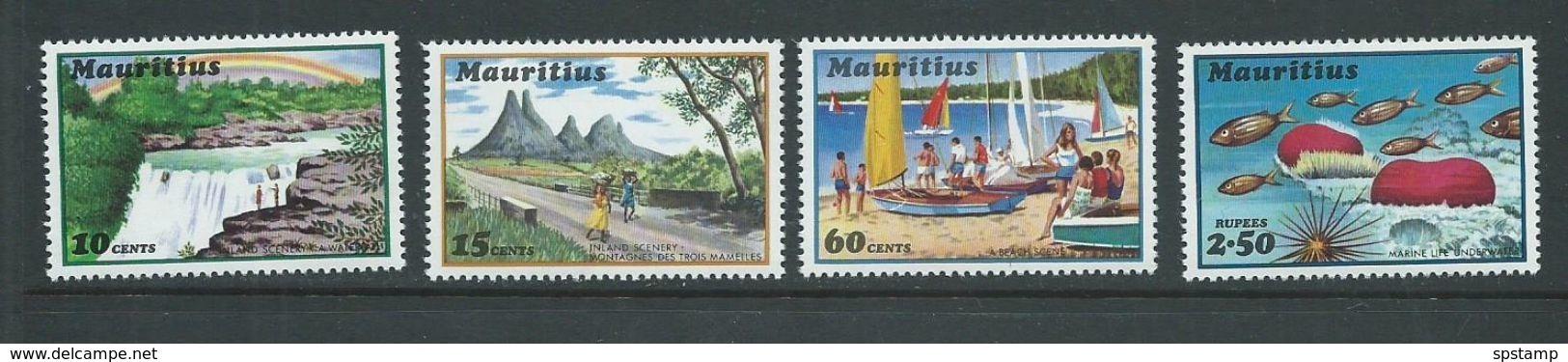 Mauritius 1971 Tourism Set Of 4 MNH - Mauritius (1968-...)