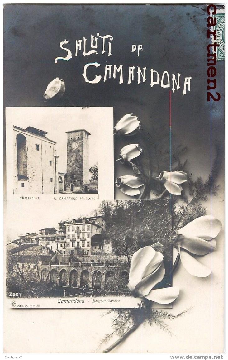 SALUTI DA CAMANDONA BIELLESE BIELLA ITALIA - Non Classificati