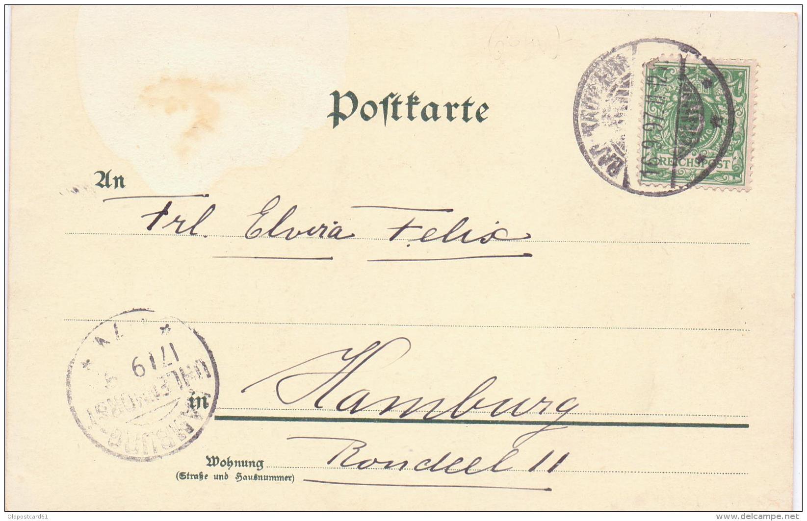 ALTE Litho- AK   GRUSS Vom KAISERMANÖVER - 1897 - / Gelaufen 1897 - Maniobras