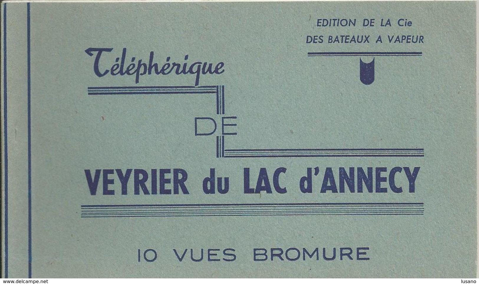 Veyrier Du Lac D'Annecy - Carnet De 10 Cartes - Veyrier