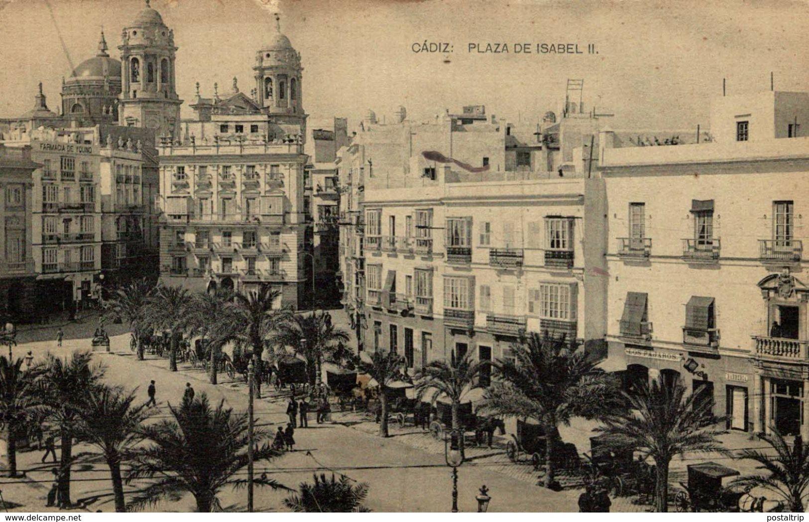 CADIZ - PLAZA DE ISABEL II - Cádiz