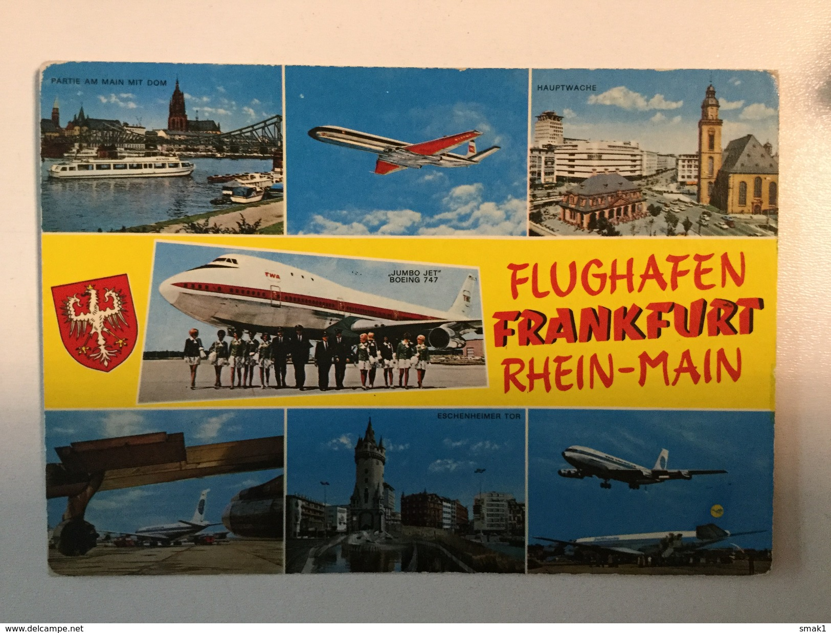 AK  AERODROM  AIRPORT  FRANKFURT  AIRPLANE - Aerodrome
