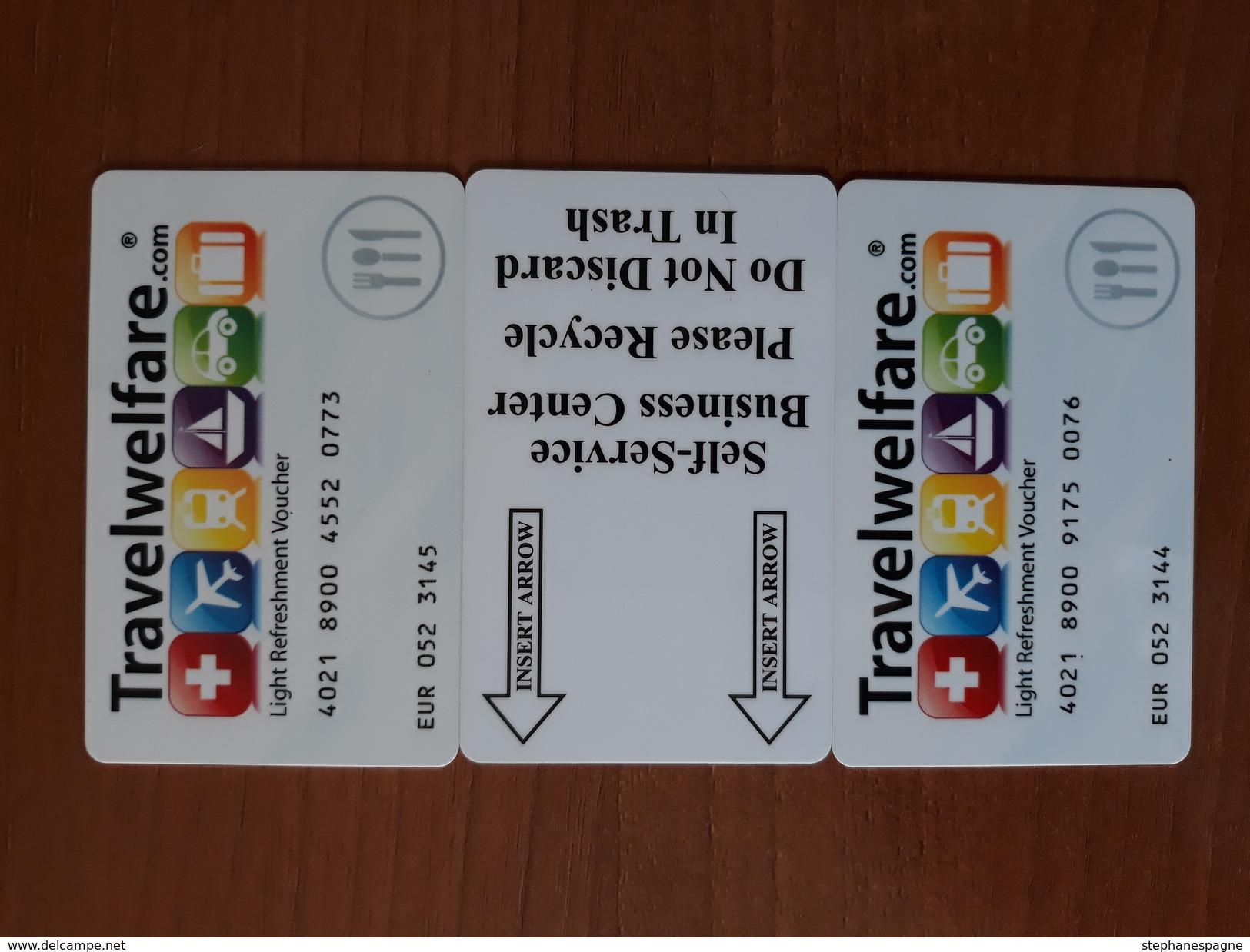 Lot 3 Cartes D'Aeroport - Telefonkarten