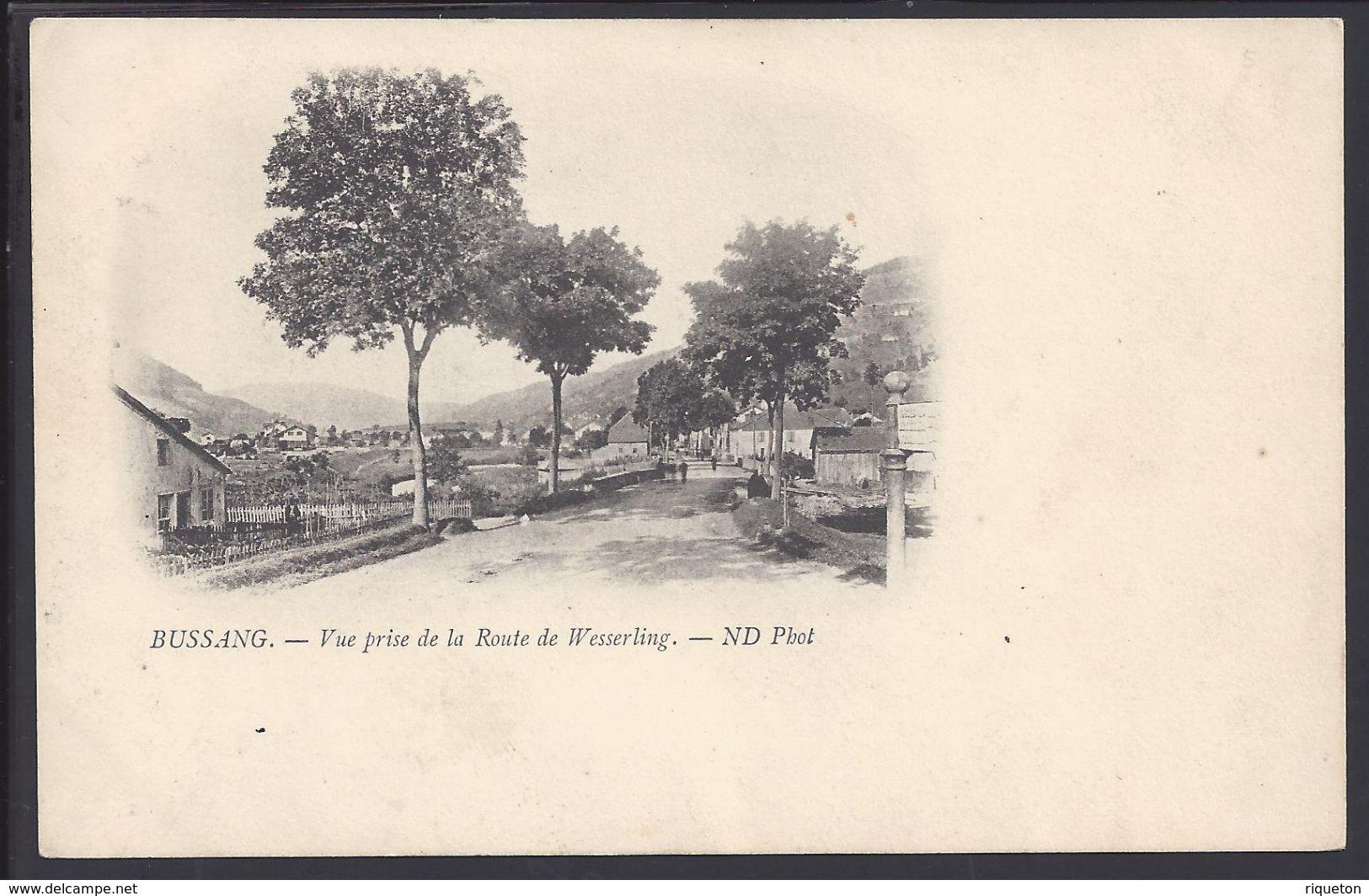 """CPA 88 - BUSSANG  """"Vue Prise De La Route De Wesserling"""" - ND Photo - BTB - - Bussang"""