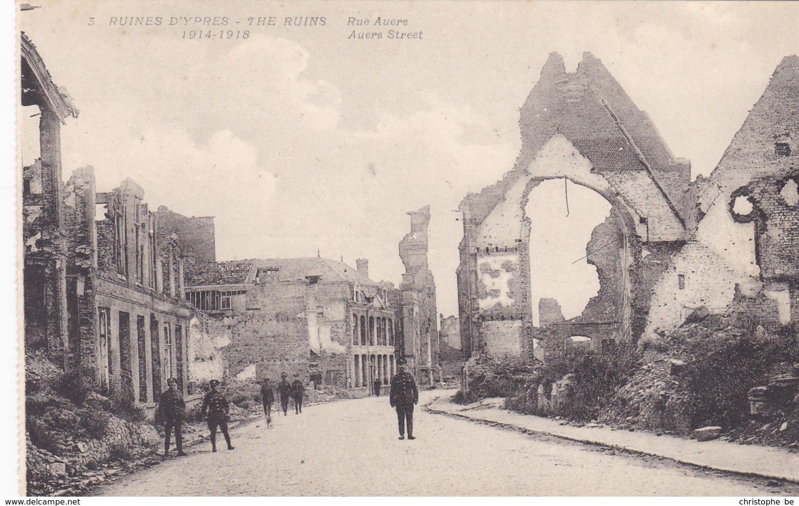 Ieper, Ypres, Ruines D'Ypres, Ruins, Rue Auers (pk38135) - Ieper
