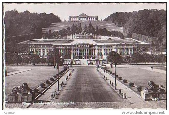 Wien   117          Schönbrunn  Gesamtansicht - Château De Schönbrunn