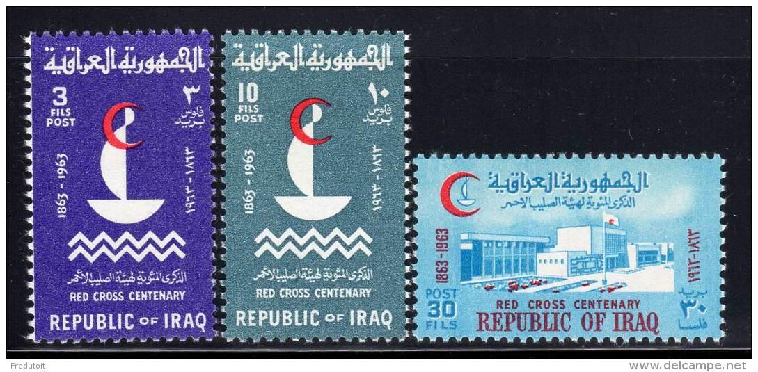 IRAK - 1963 - N°370/2 ** Croix Rouge - Iraq
