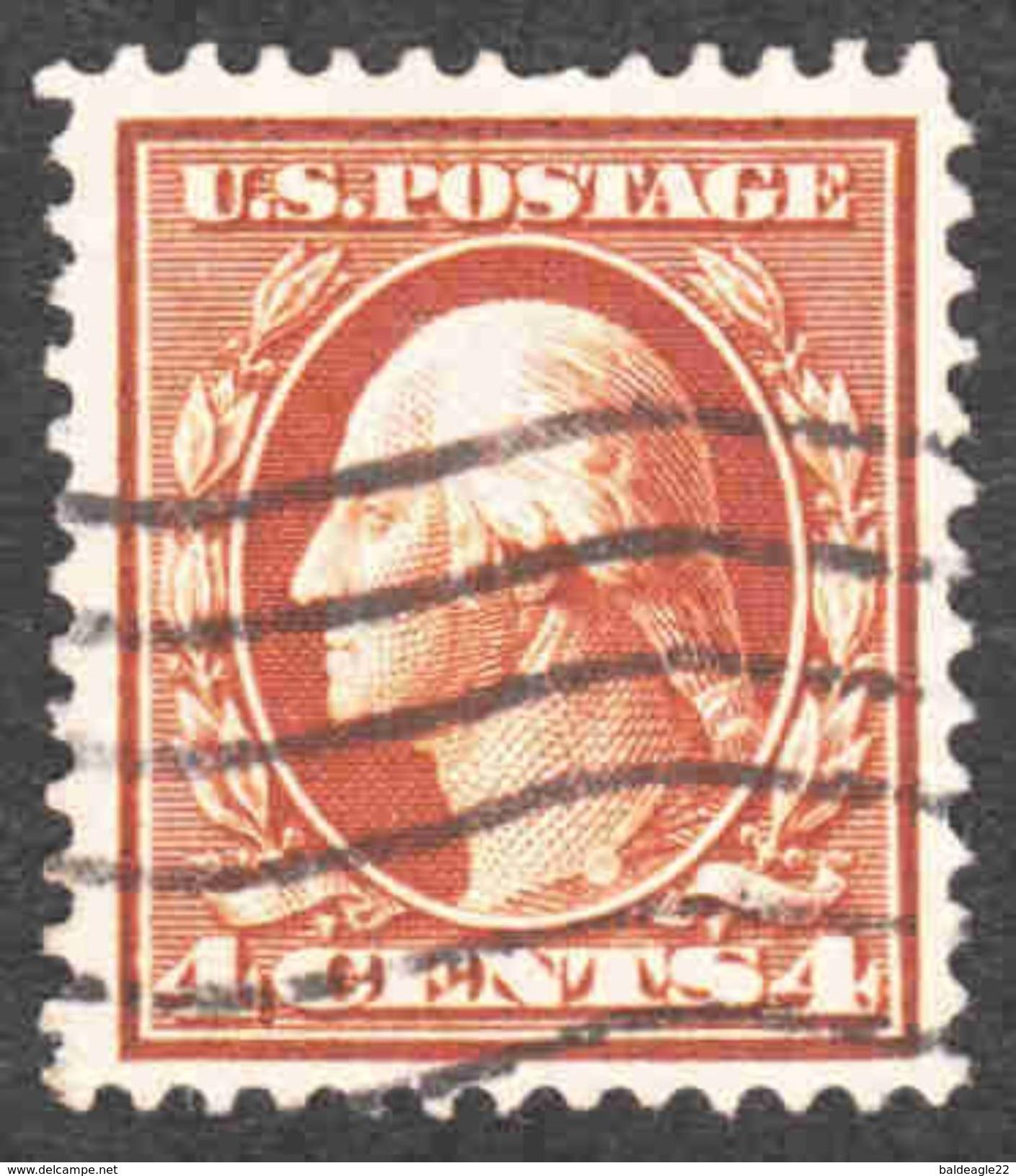 United States - Scott #377 Used (3) - Used Stamps