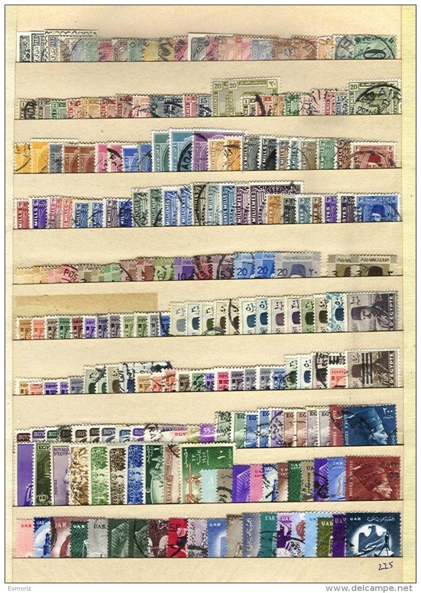 EGYPT, Colecção/Collection, 1870s/1960s - Égypte