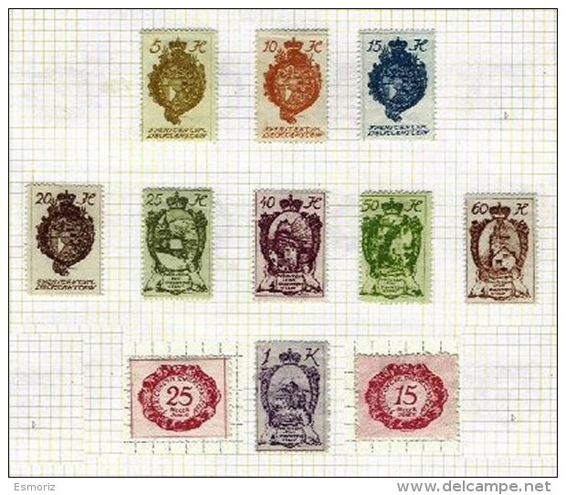 LIECHTENSTEIN, Colecção/Collection, 1920s/30s - Liechtenstein