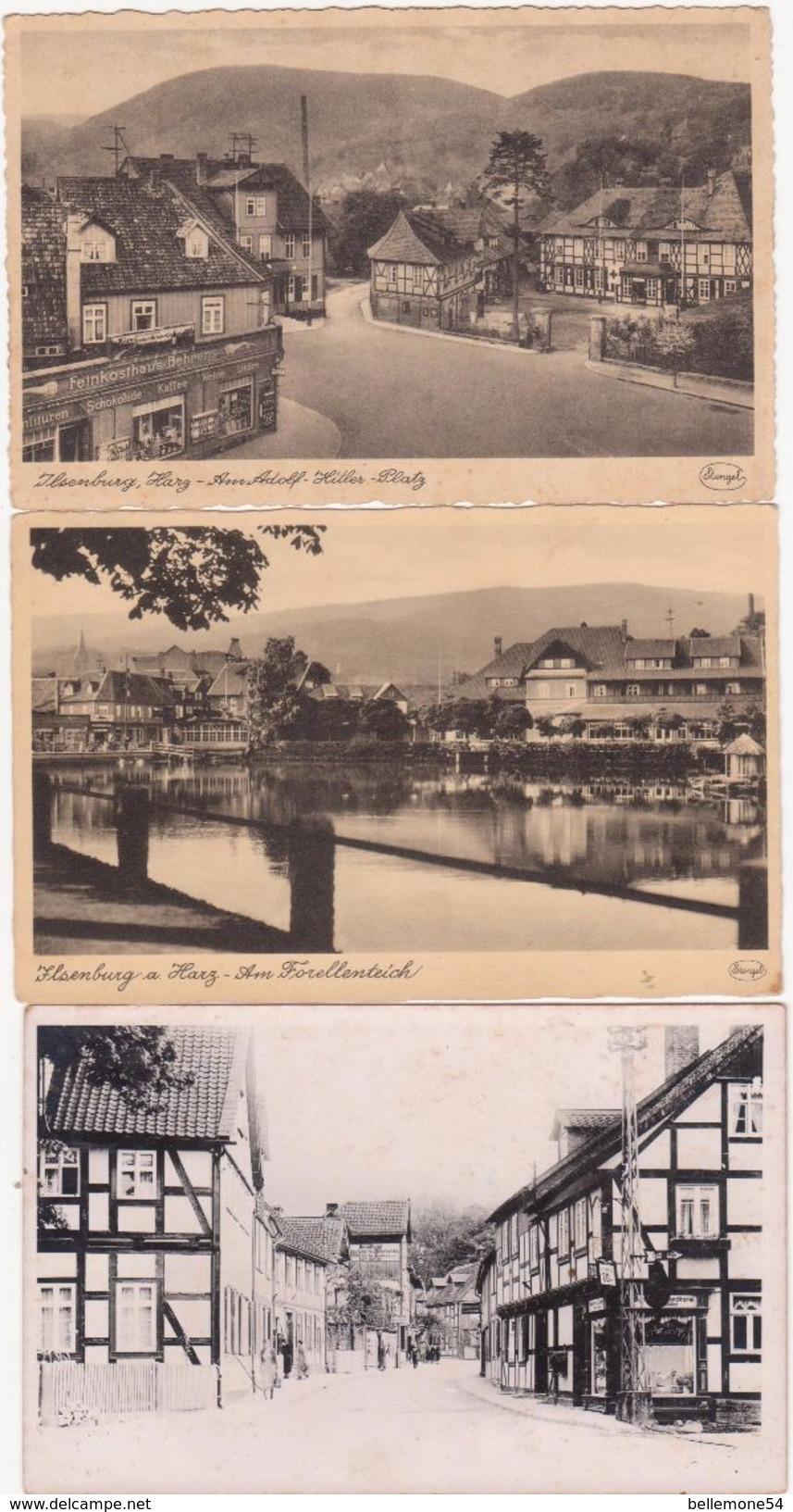 Cpa Allemagne -ILSENBURG .HARZ  Lot De 8 Cartes (voir Toutes Les Photos) - Ilsenburg