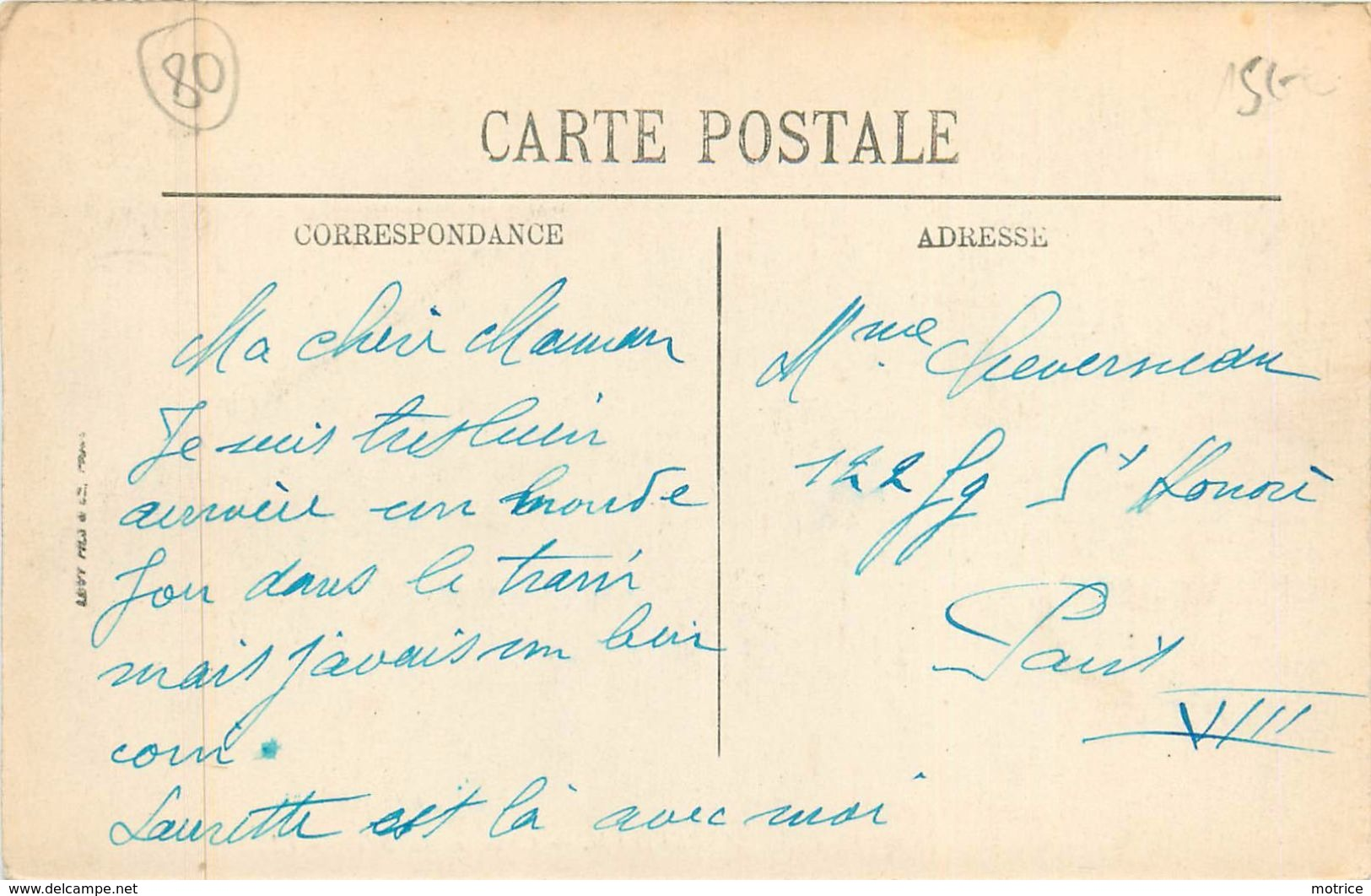 ABBEVILLE - Chaussée Du Bois. - Abbeville