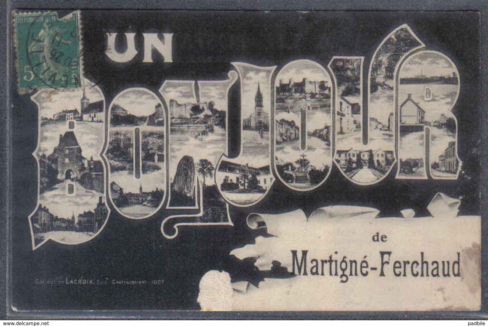 Carte Postale 35. Martigné-Ferchaud     Trés Beau Plan - France