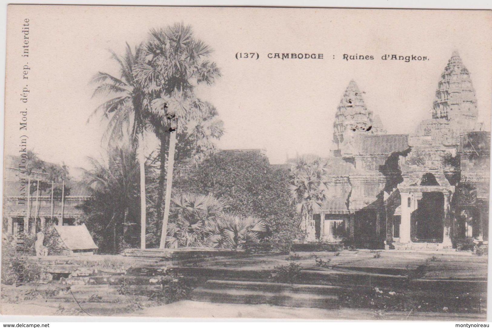 Asie: CAMBODGE :  Ruines D ' Angkon - Cambogia