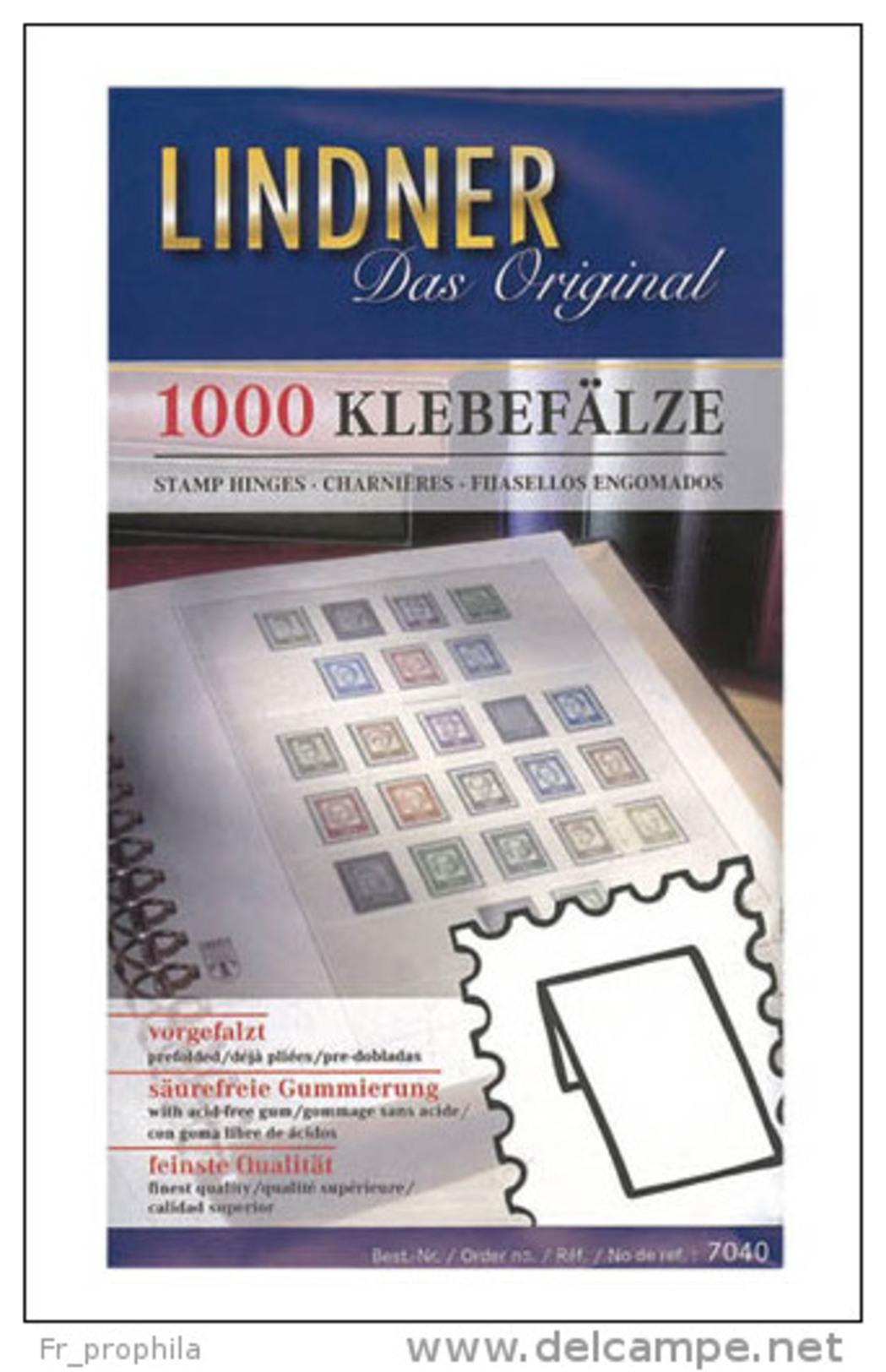 Lindner 7040 Charnières - Le Paquet De 1000 - Briefmarken