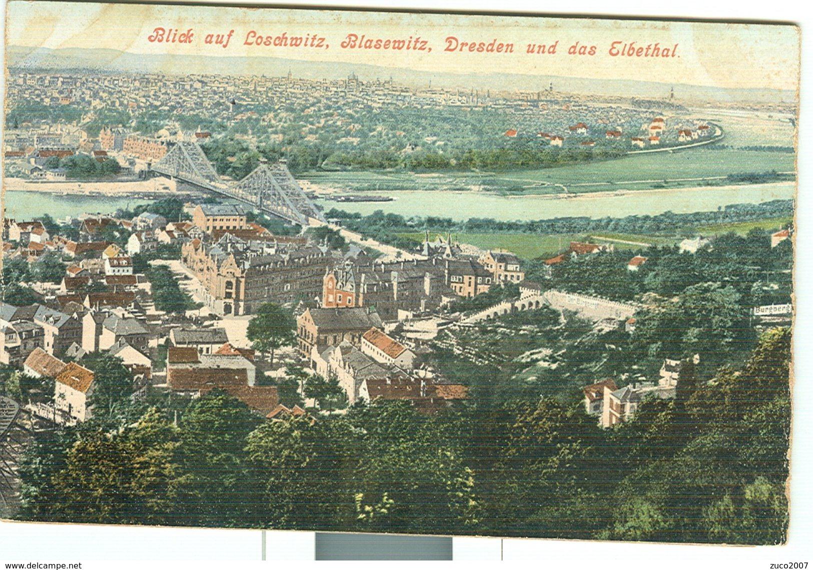 DRESDEN -  3 VEDUTE , NON VIAGGIATA - Dresden