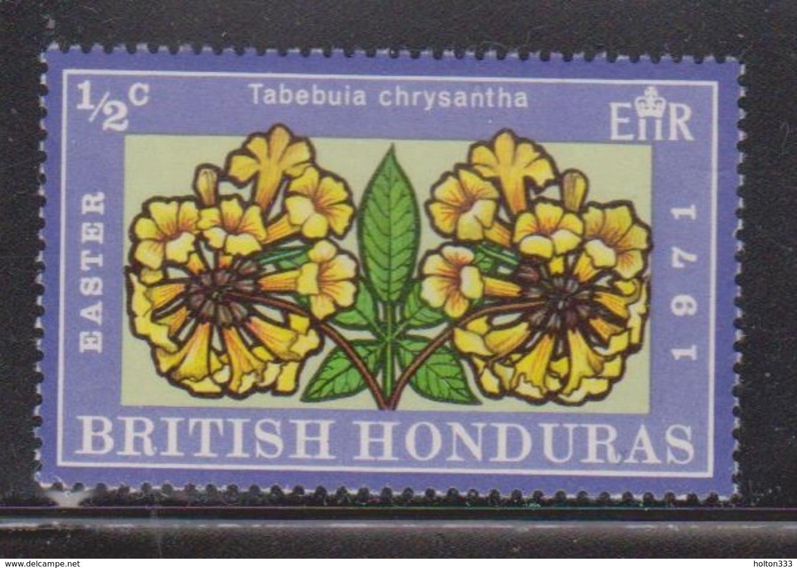 BRITISH HONDURAS Scott # 275 MNH - QEII Flowers - British Honduras (...-1970)