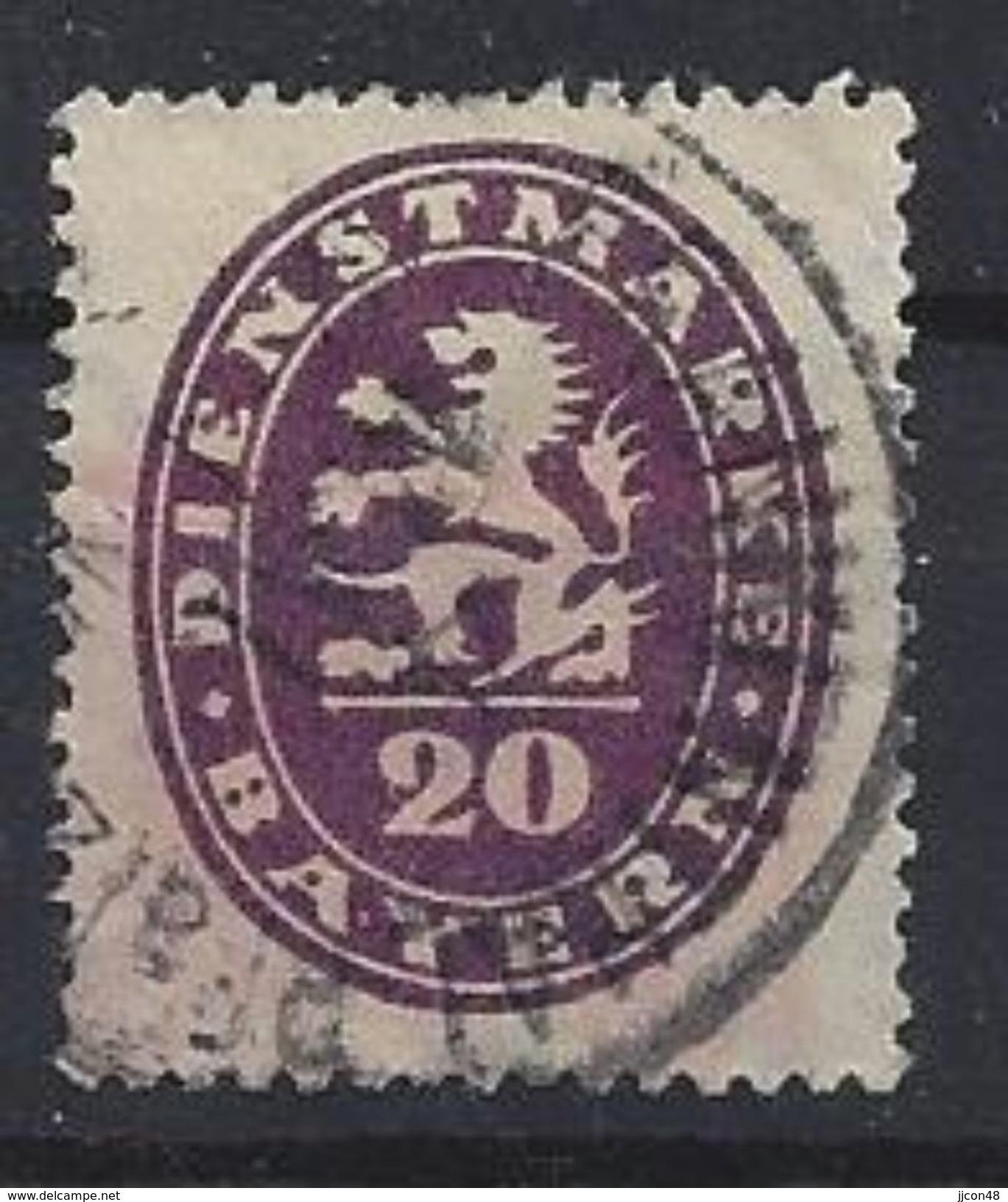 Bayern Dienst 1920  (o) Mi.47 - Bavière