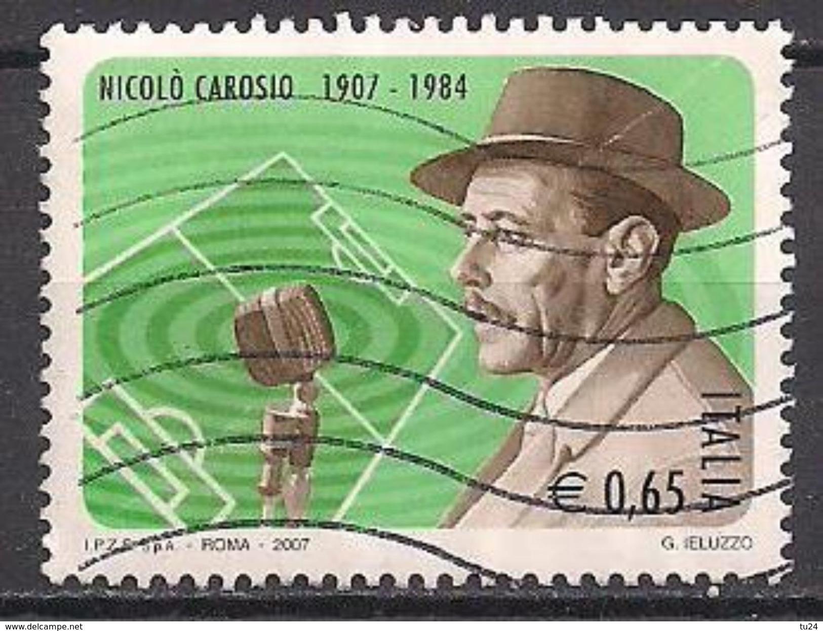 Italien (2007)  Mi.Nr.  3161  Gest. / Used  (1fl14) - 6. 1946-.. Repubblica