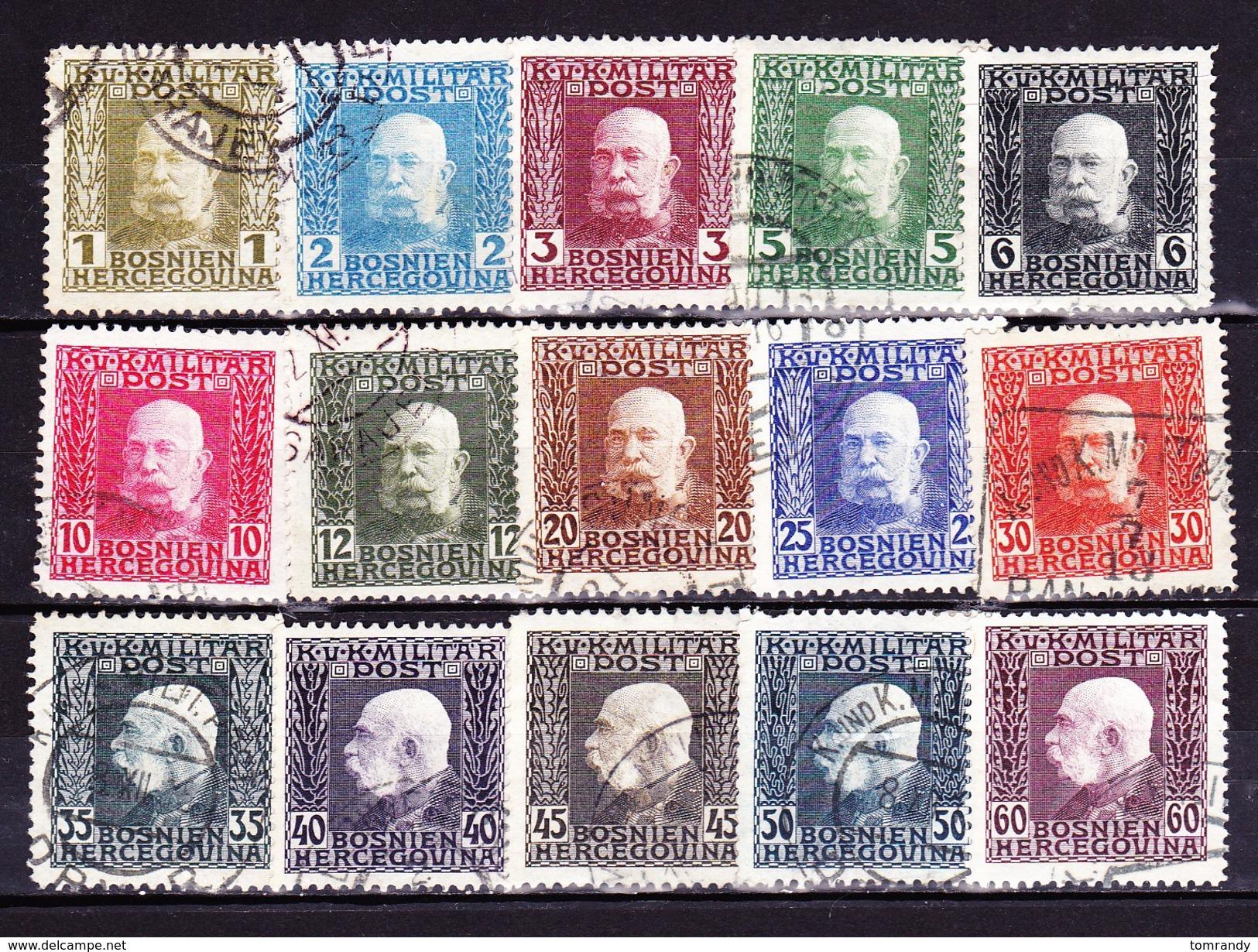 Bosnien-Herzogowina 1912, Kaiser Franz-Josef - Bosnien-Herzegowina