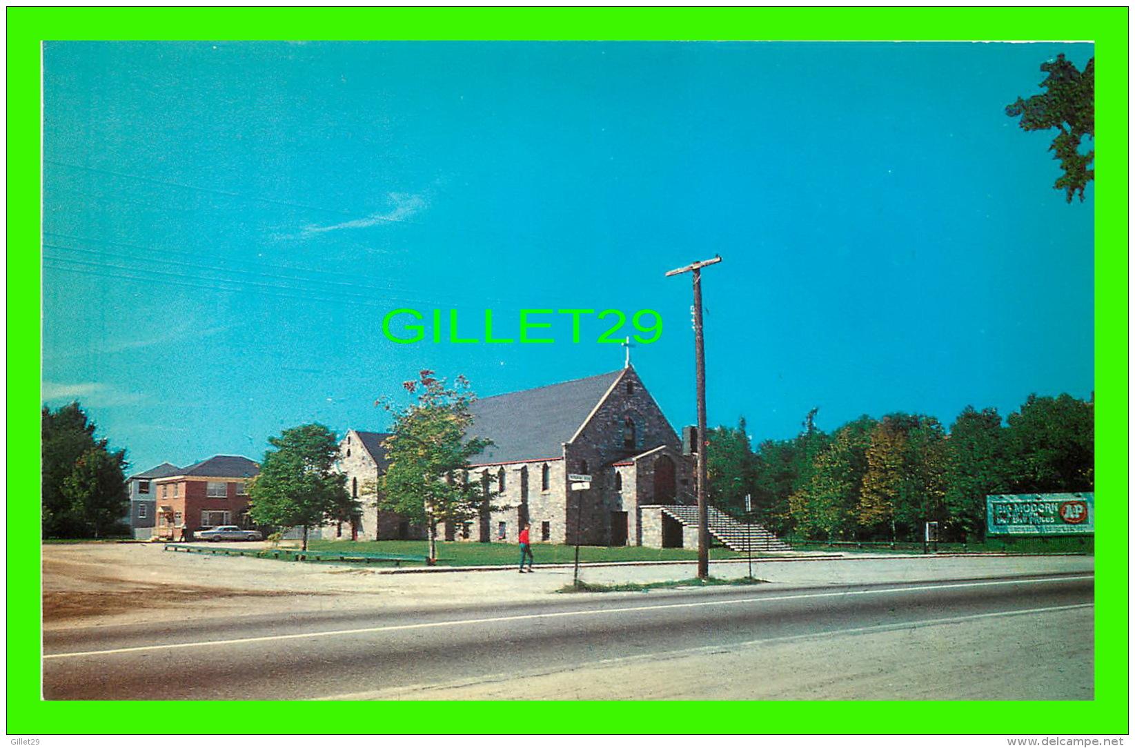 NORTH BAY, ONTARIO - HOLY NAME CHURCH, ROMAN CATHOLIC - WORLD WIDE SALES AGENCIES LTD - - North Bay